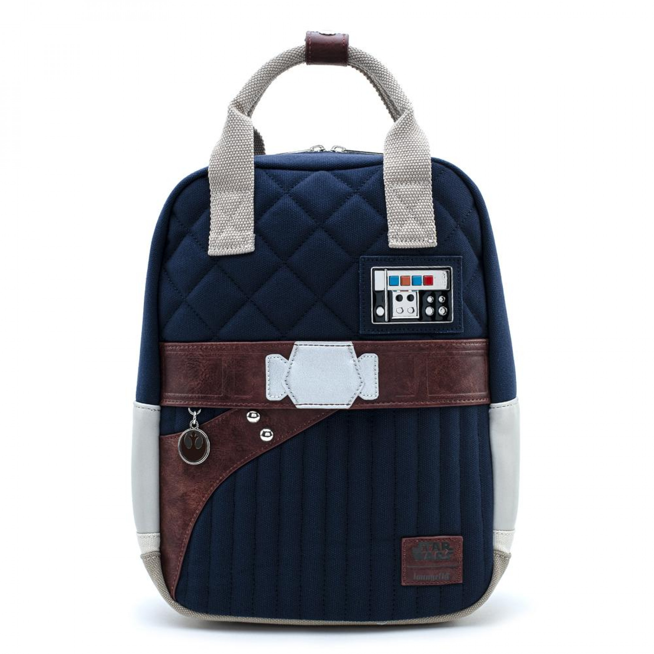 Star Wars Empire 40th Han Solo Hoth Outfit Mini Backpack by Loungefly