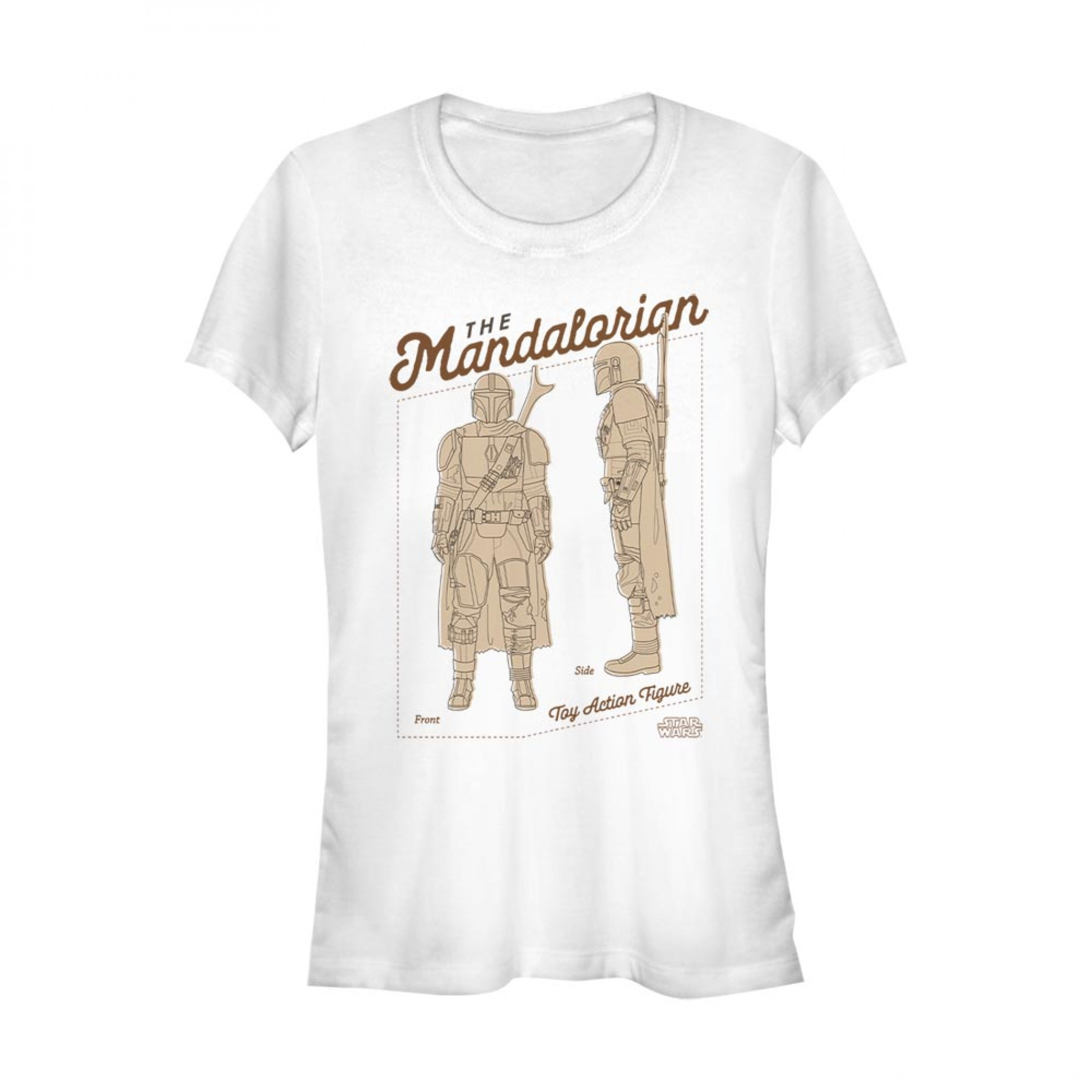 The Mandalorian Toy Figure Women's T-Shirt