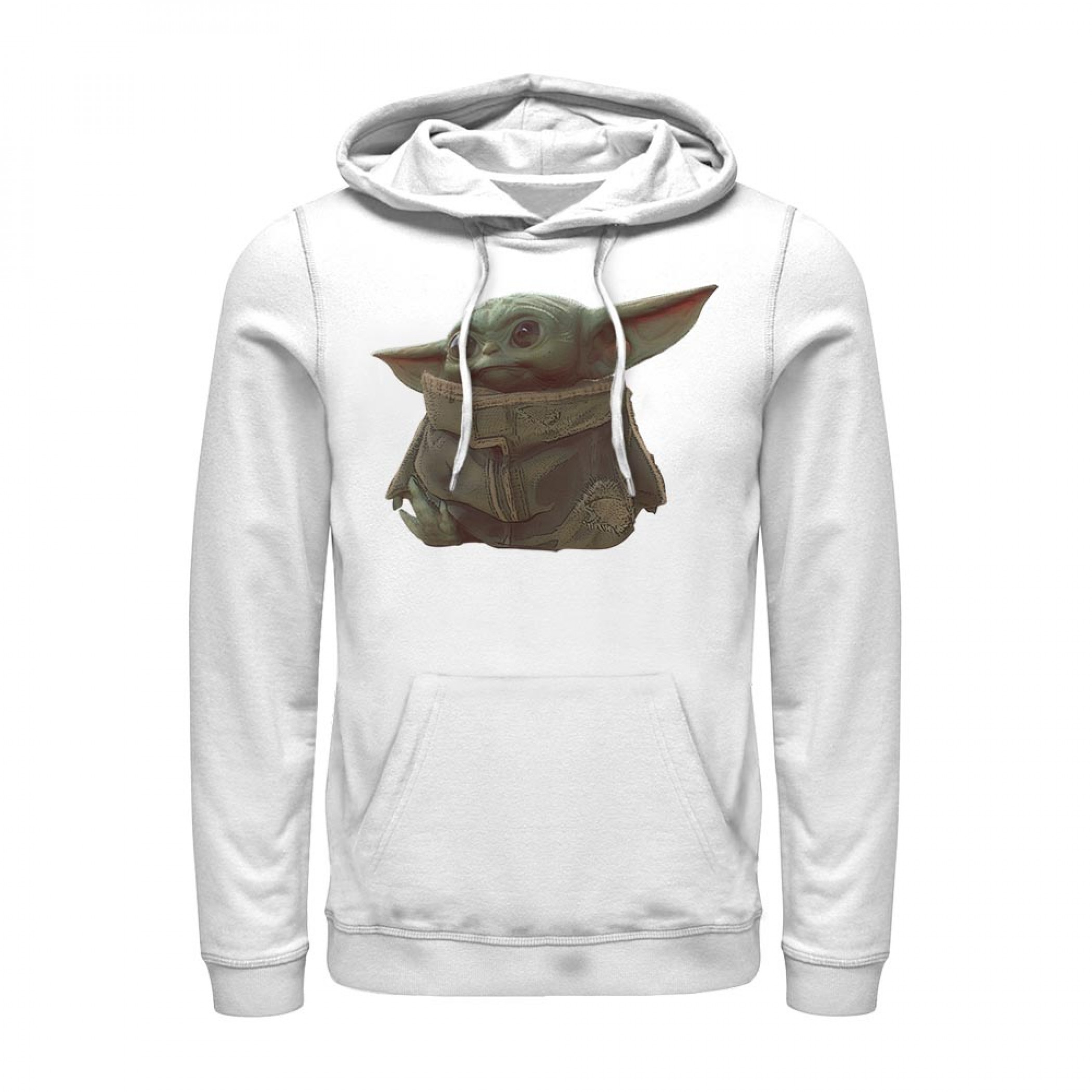 Star Wars The Mandalorian The Child Portrait Hoodie