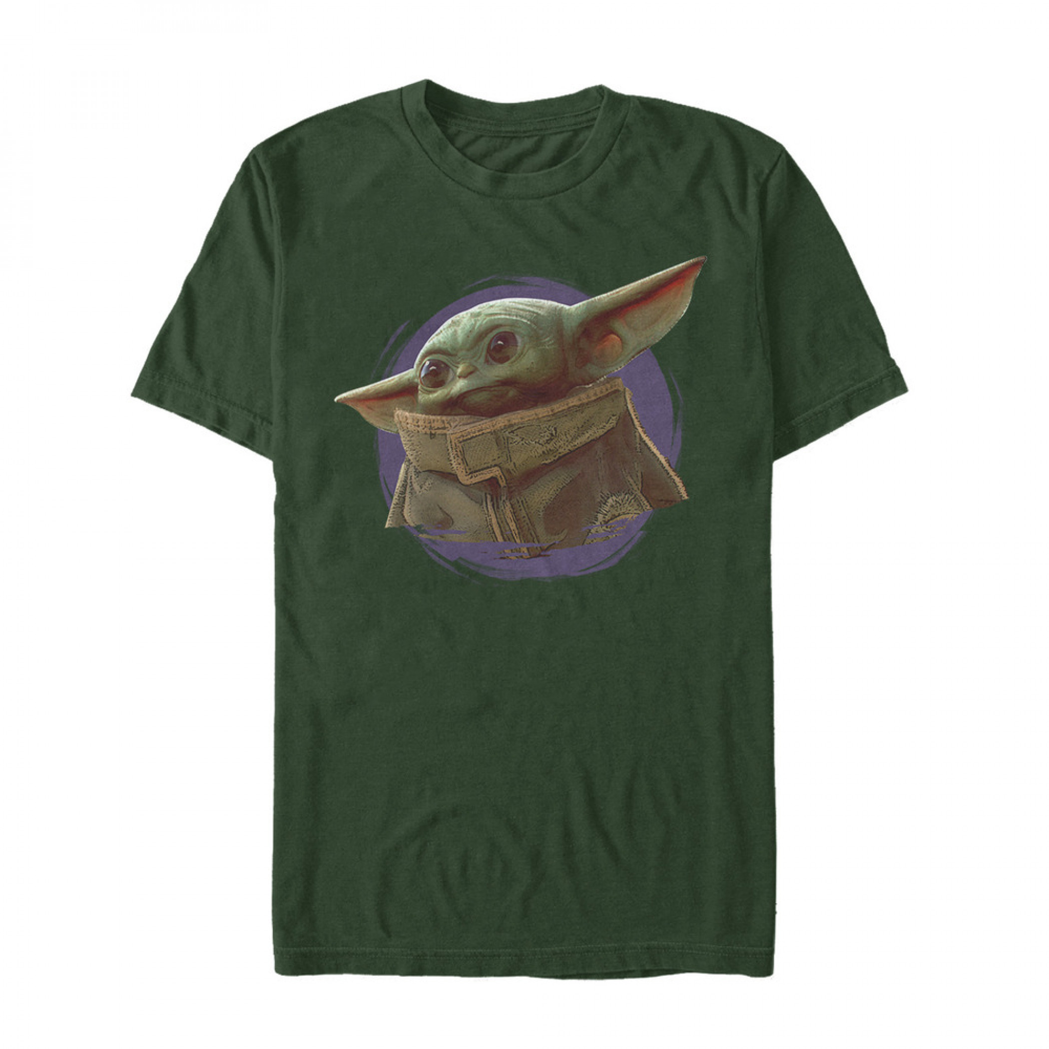 The Mandalorian The Child Forest Green T-Shirt