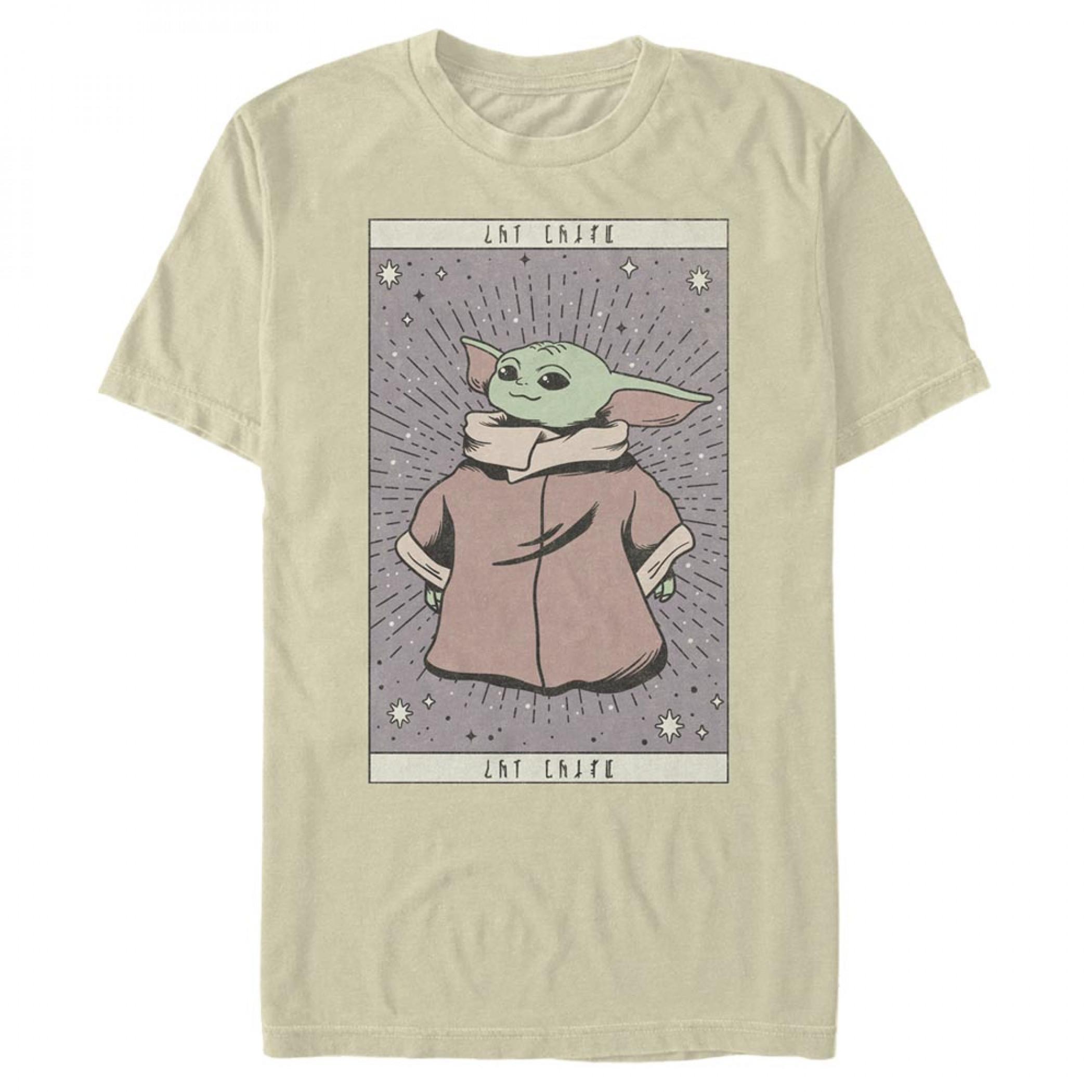 """The Mandalorian """"The Child"""" Tarot Card T-Shirt"""