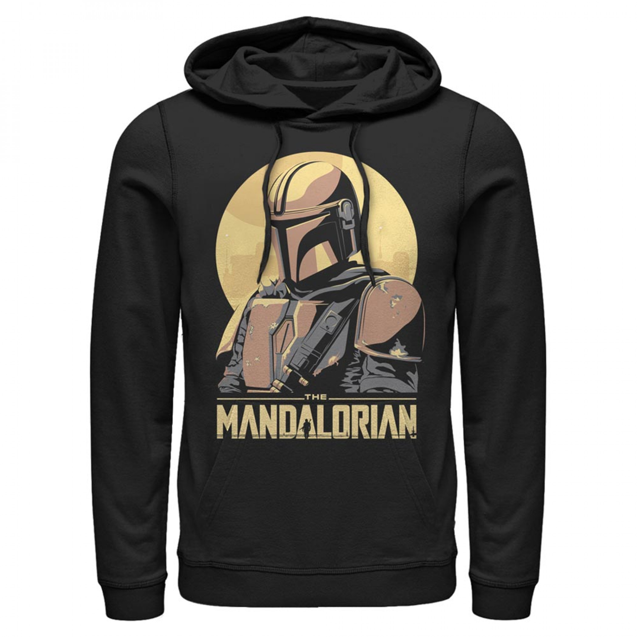 The Mandalorian Sunset Hoodie