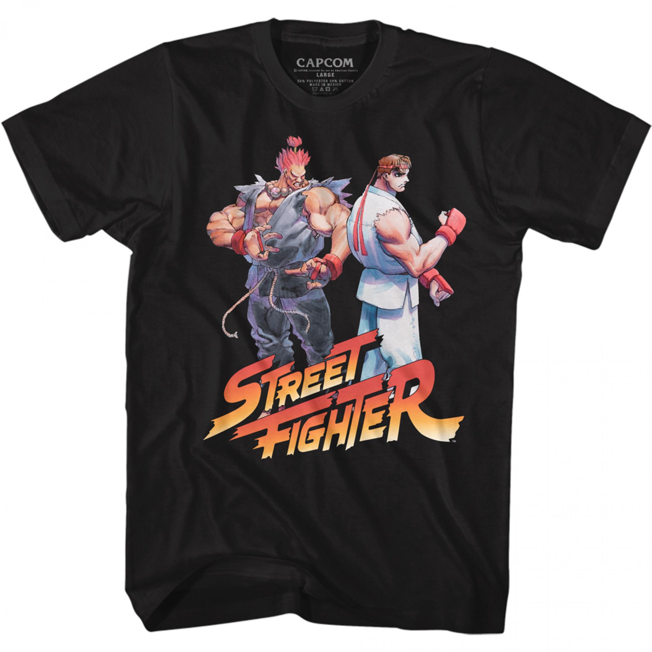 Street Fighter Akuma & Ryu T-Shirt