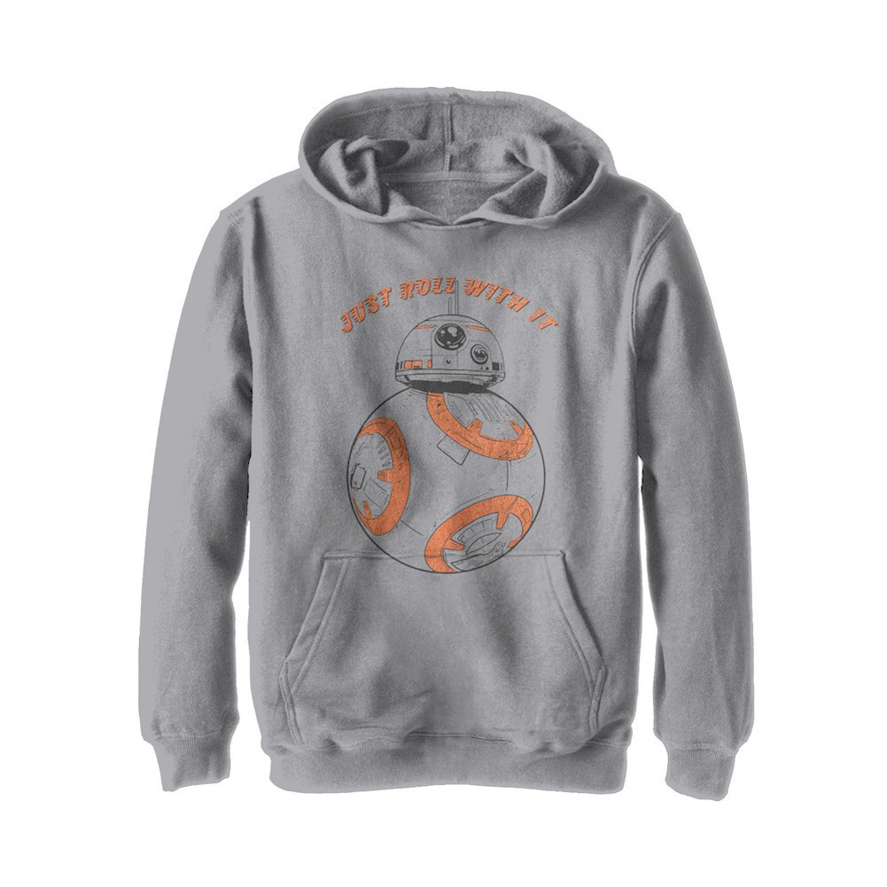 Star Wars The Last Jedi Just Roll With It Youth Hoodie