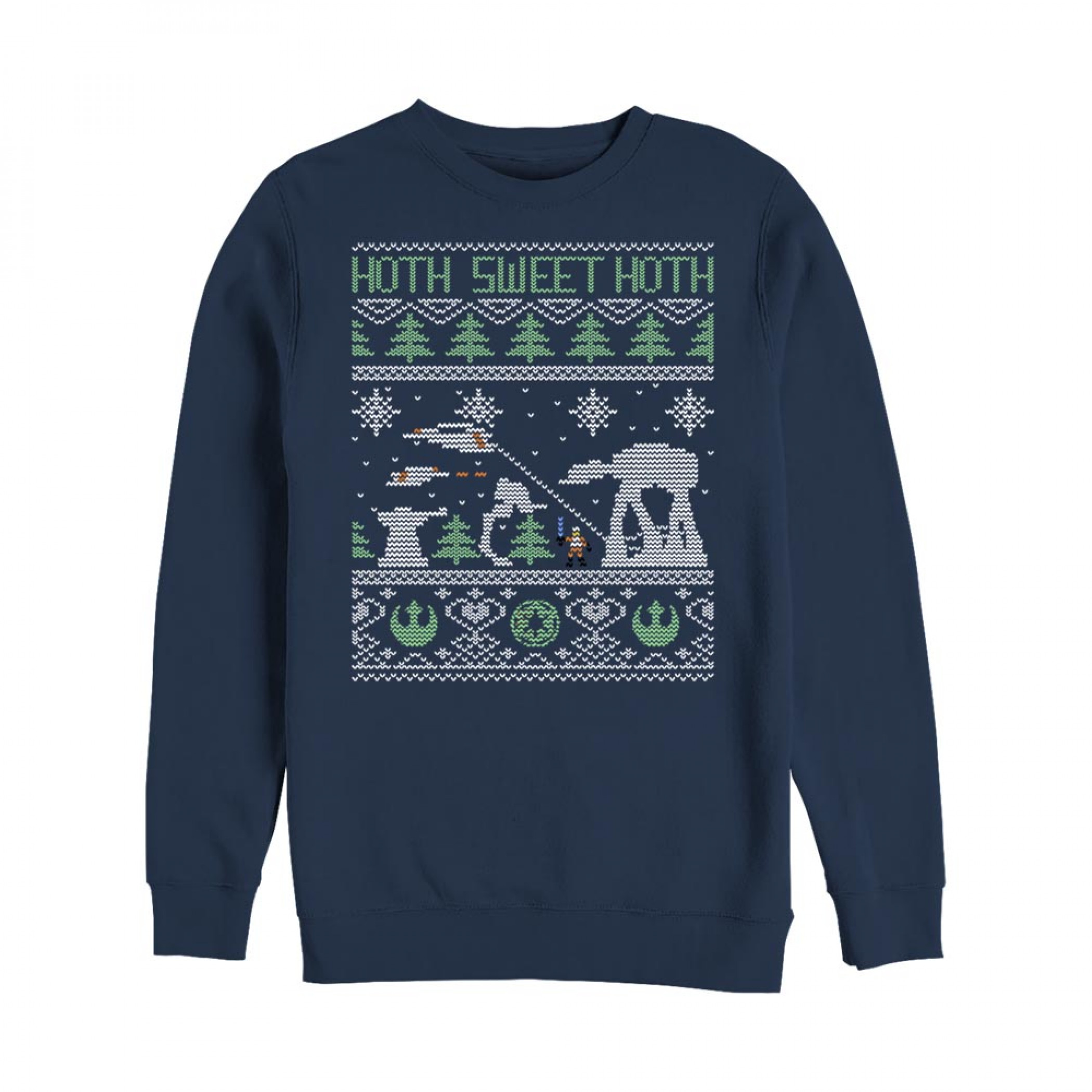 Star Wars Hoth Sweet Hoth Ugly Christmas Sweatshirt