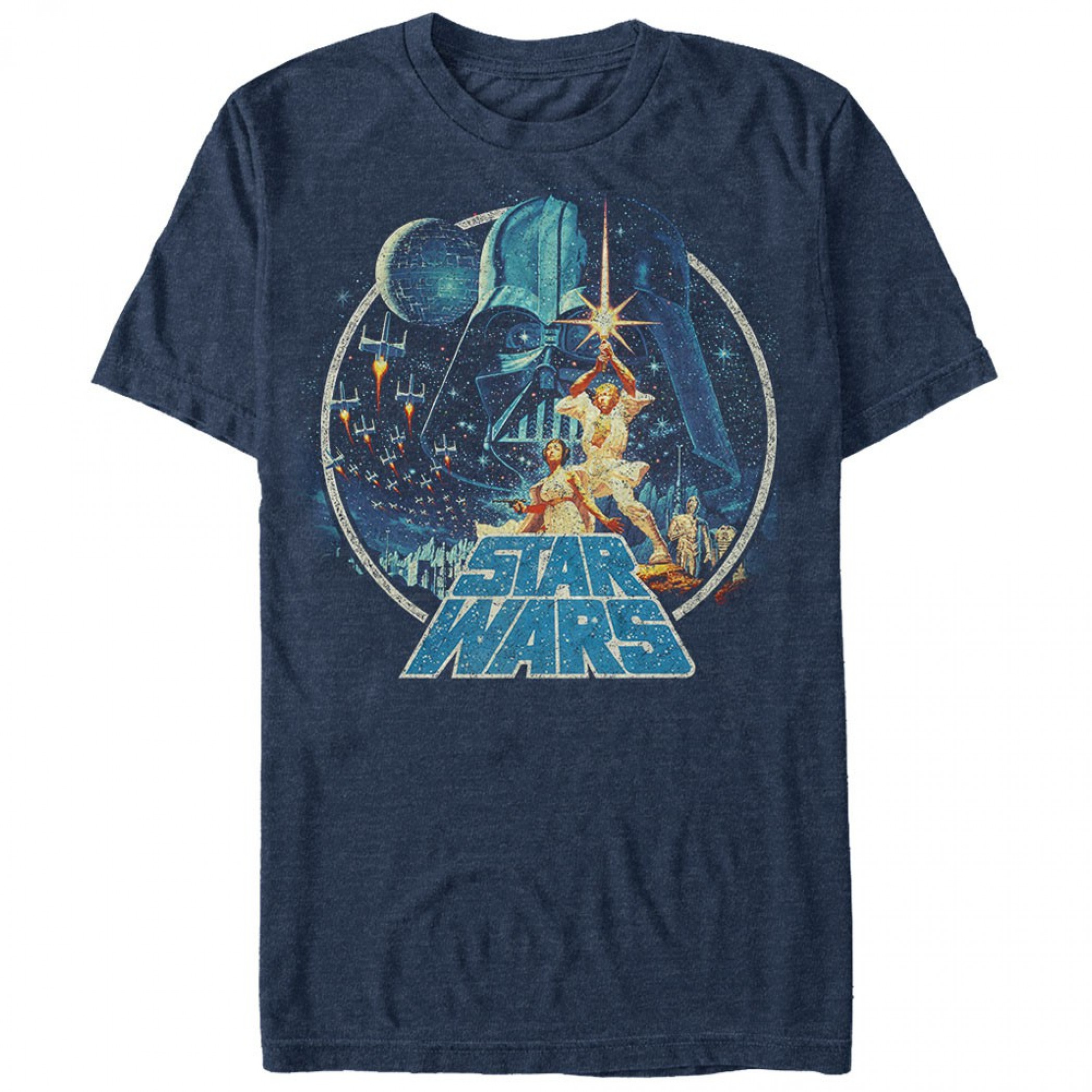 Star Wars Classic Scene Circle Men's T-Shirt