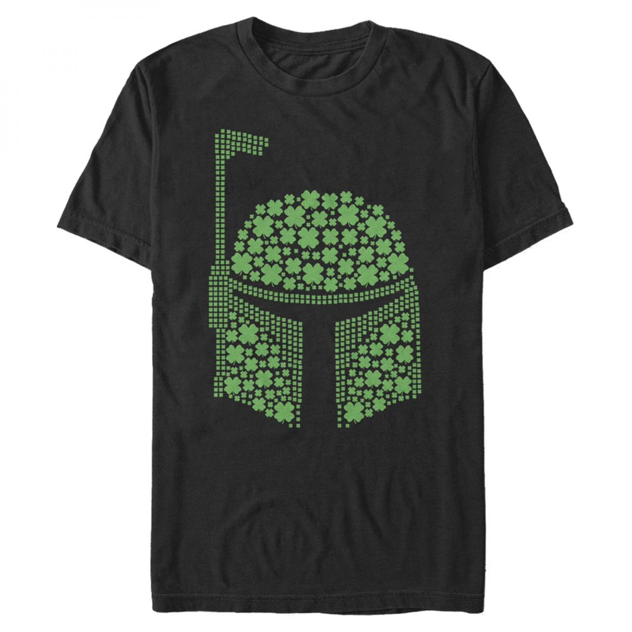 Star Wars Boba Fett Shamrocks St. Patrick's Day T-Shirt