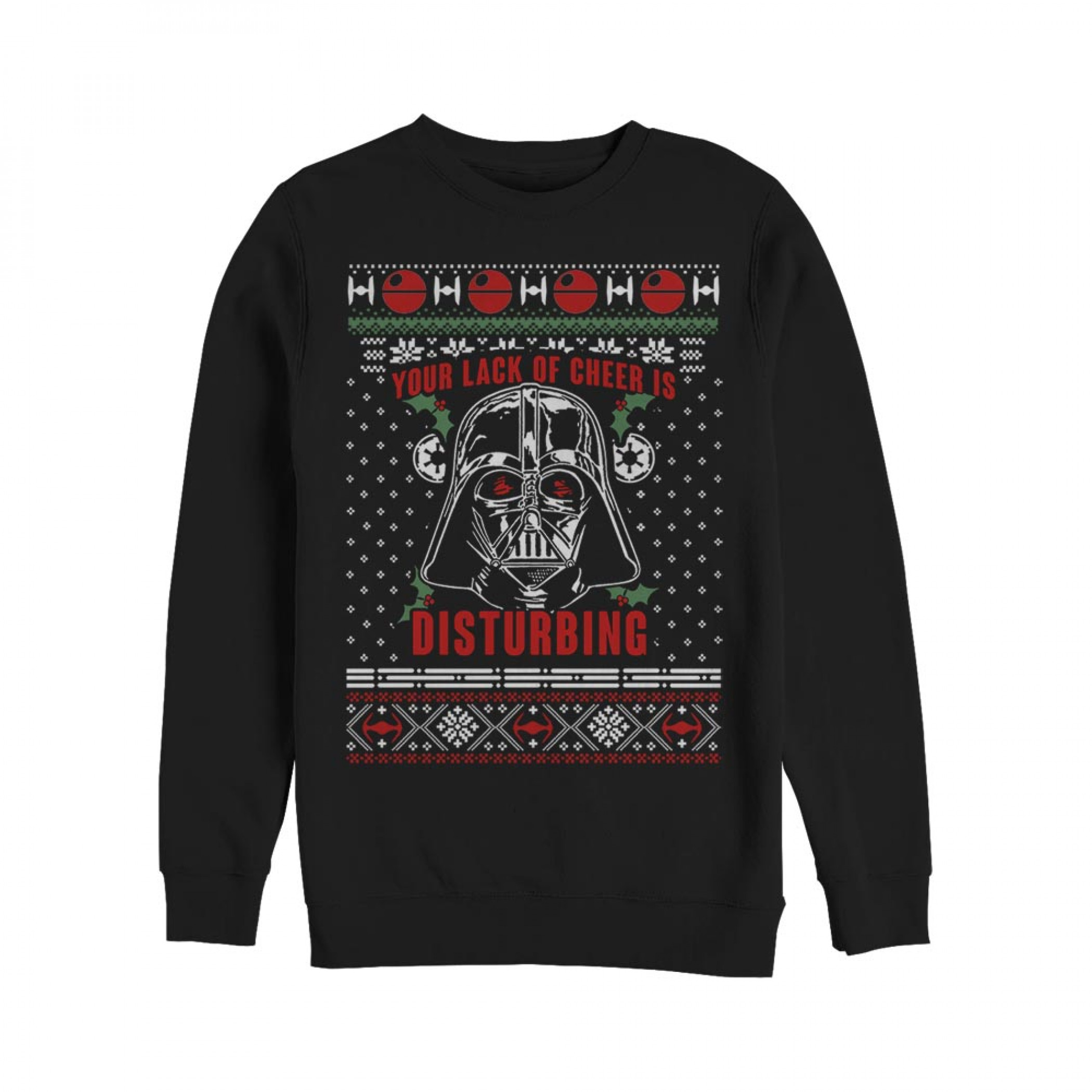 Star Wars Lack Of Cheer Disturbing Ugly Christmas Sweater Design Sweatshirt