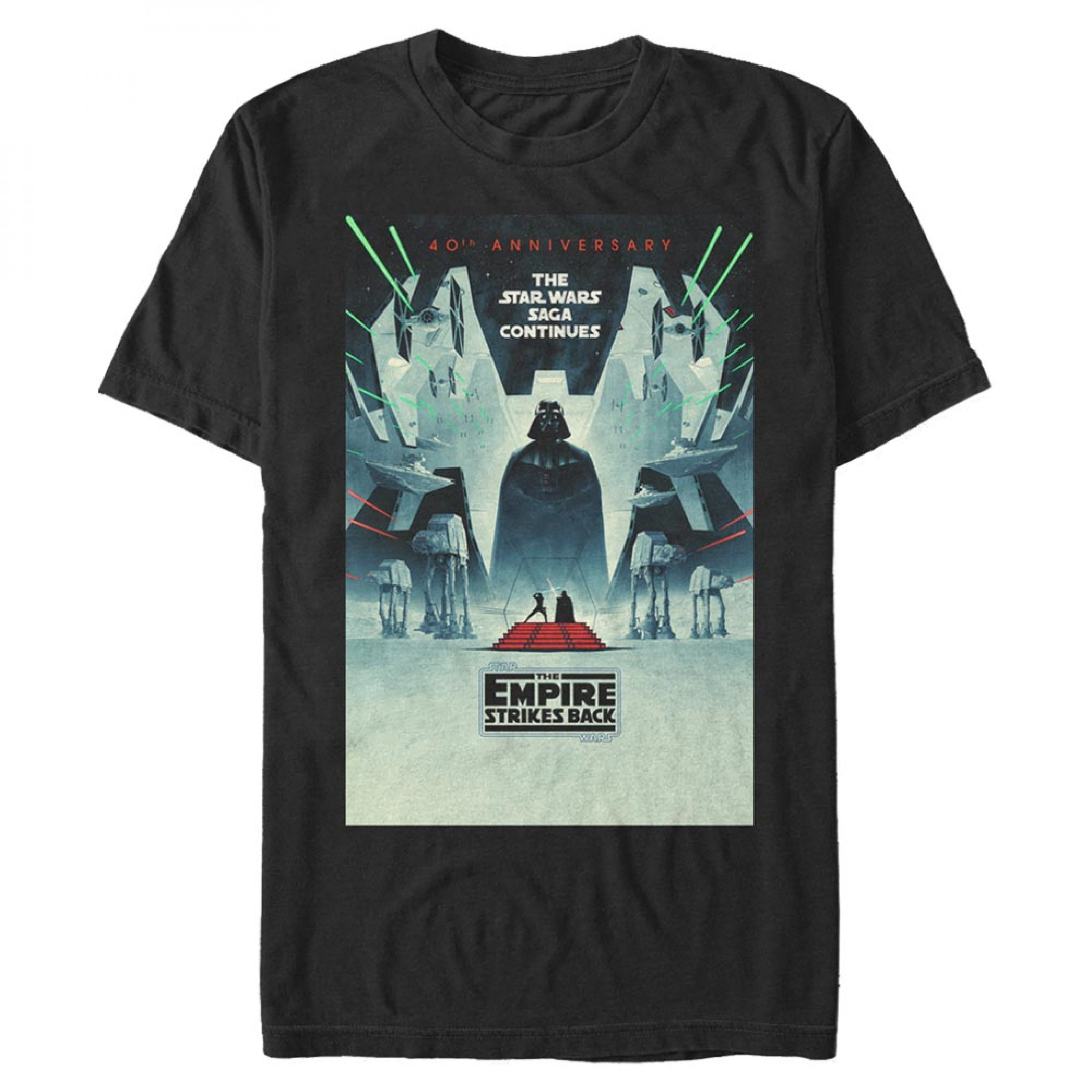 Star Wars The Empire Strikes Back 40th Anniversary T-Shirt