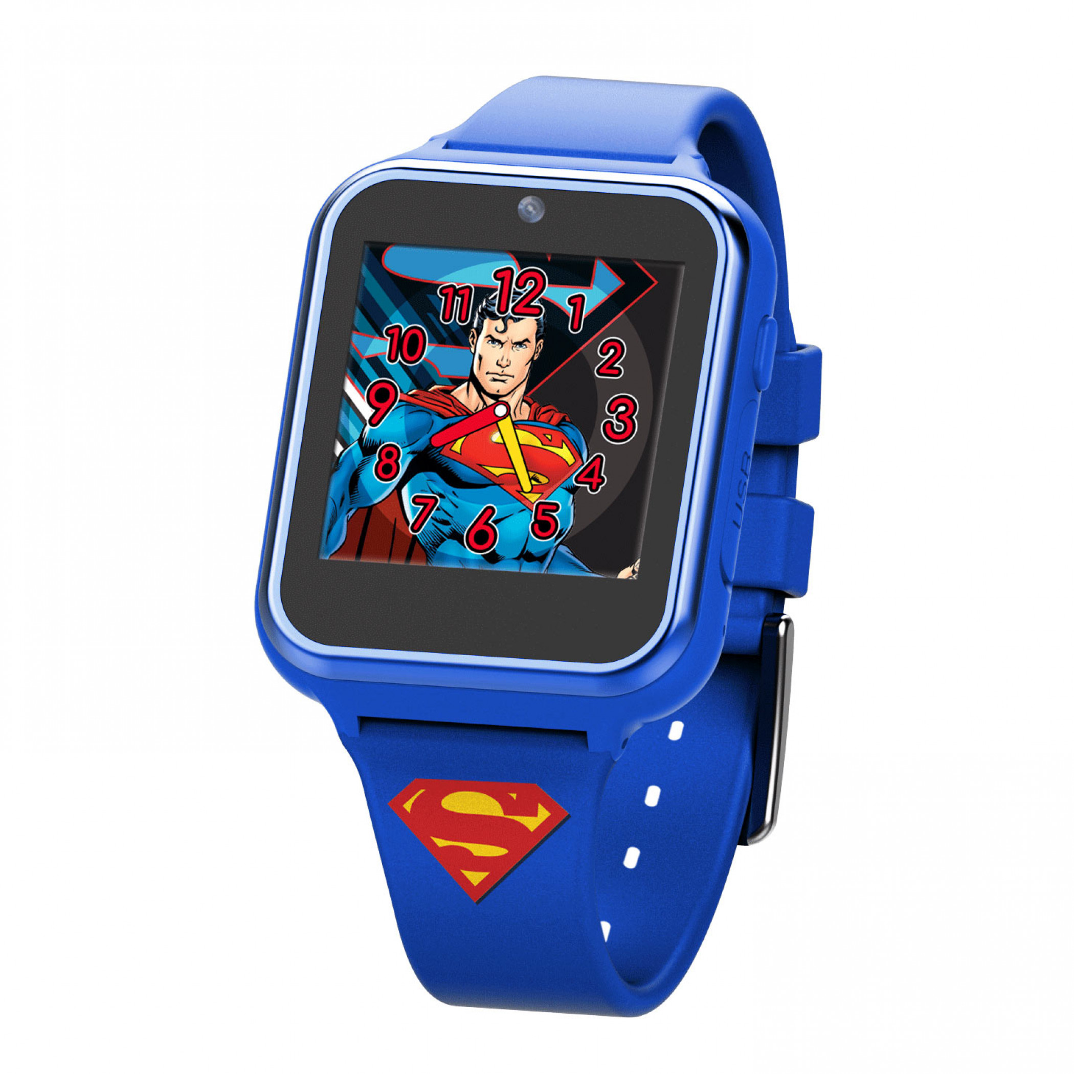 Superman Symbol Accutime Interactive Kids Watch