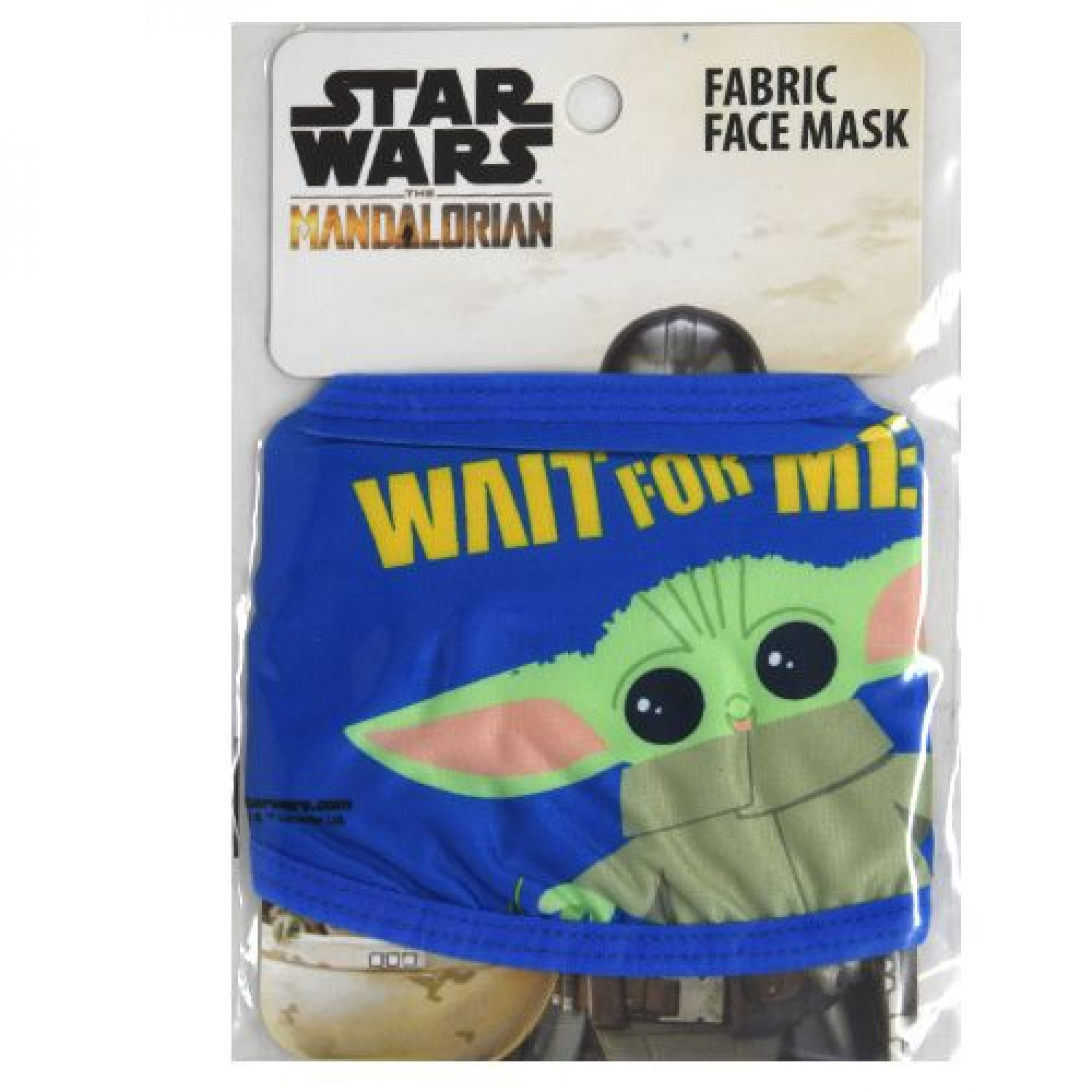 Star Wars The Mandalorian The Child Youth Sized Fabric Face Mask