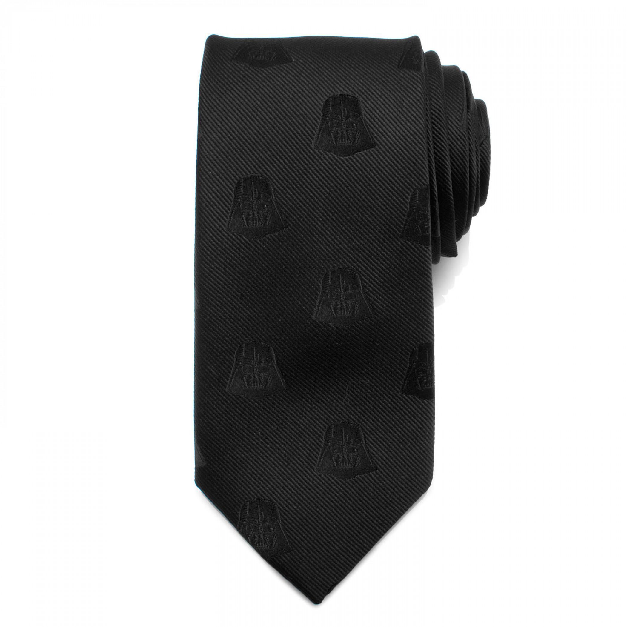Star Wars Darth Vader Black Silk Tie