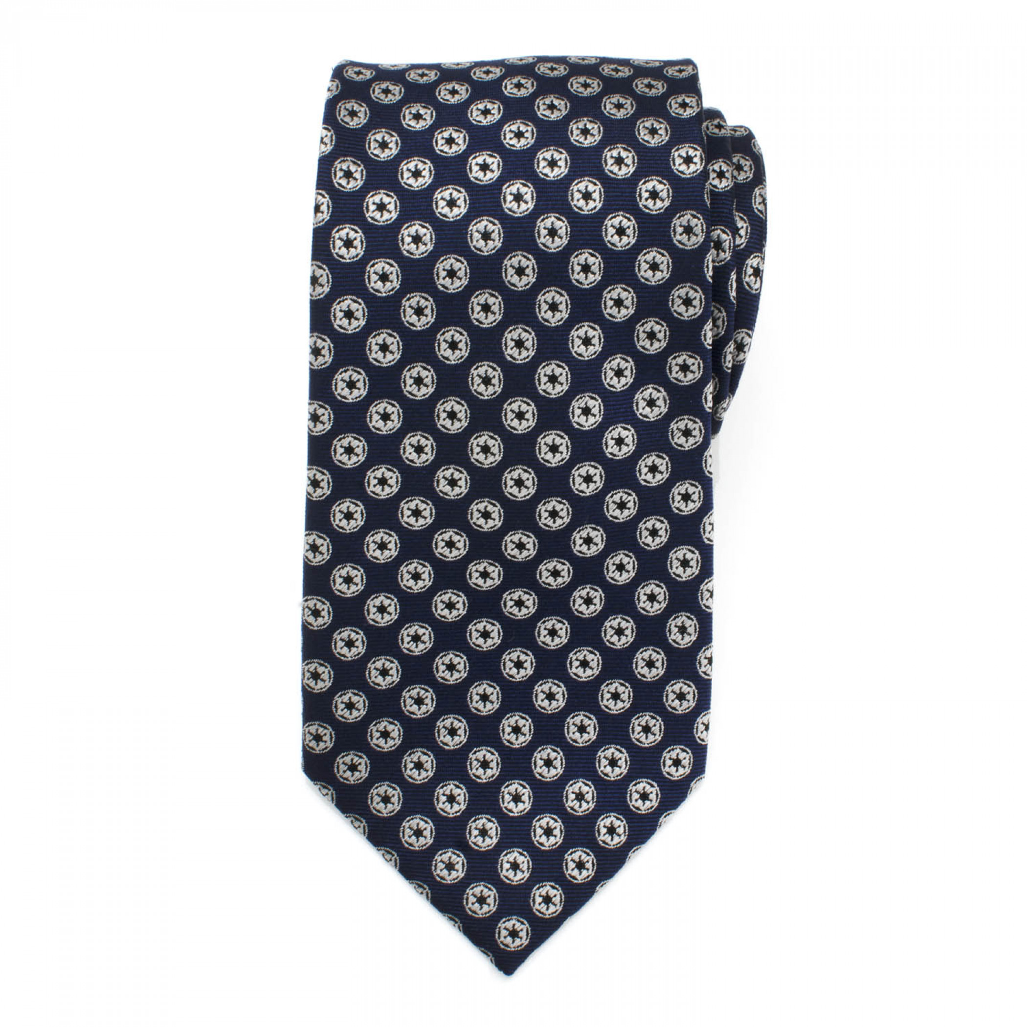 Star Wars Imperial Symbol Men's Navy Silk Tie