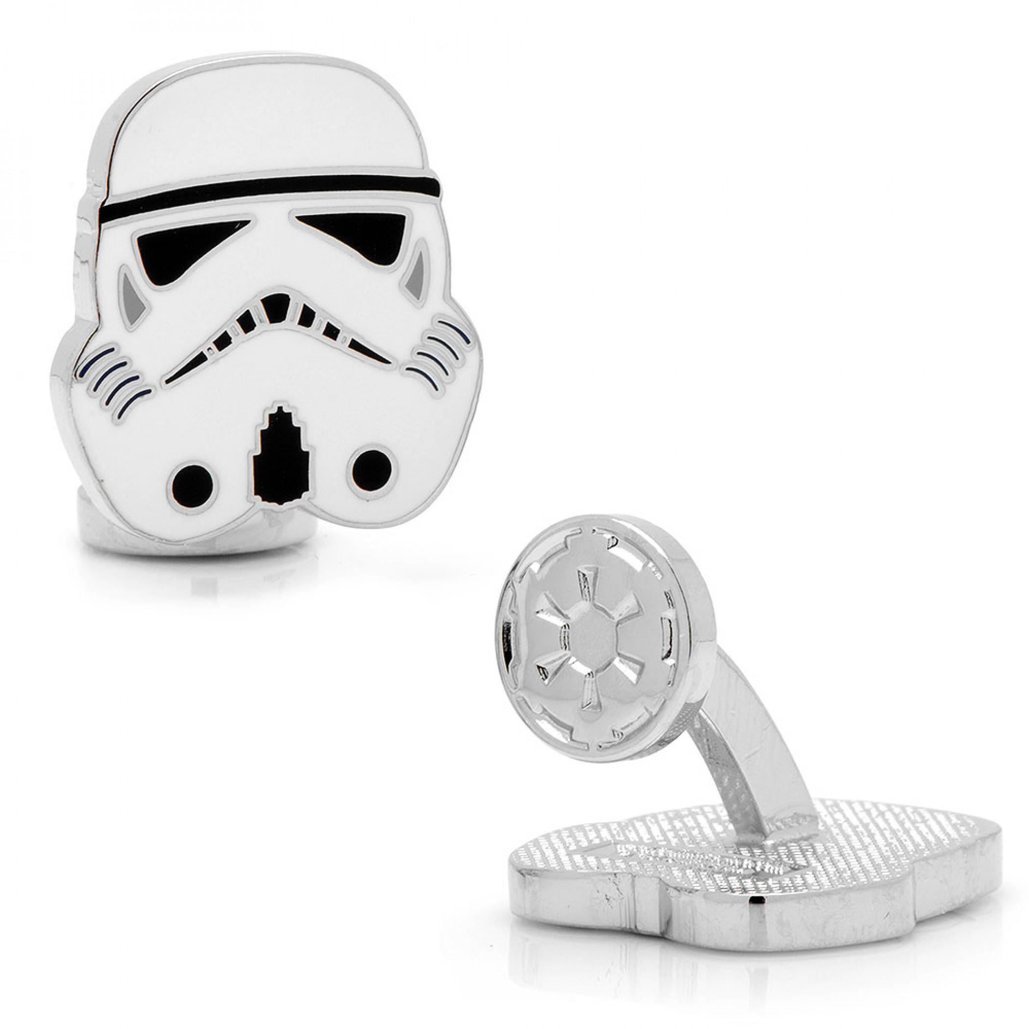 Star Wars Stormtrooper Helmet Cufflinks