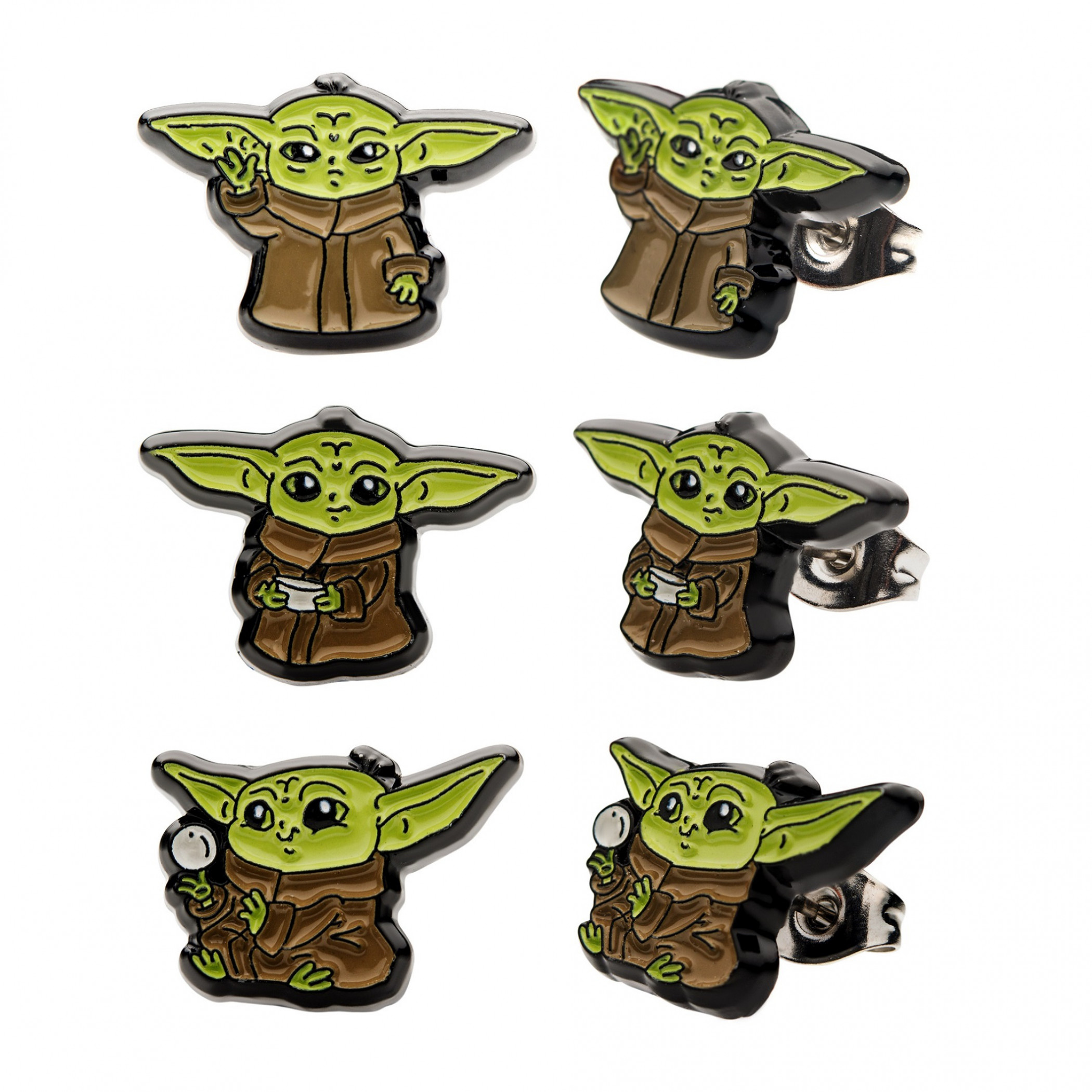 Star Wars The Mandalorian 3-Pack of The Child Earrings