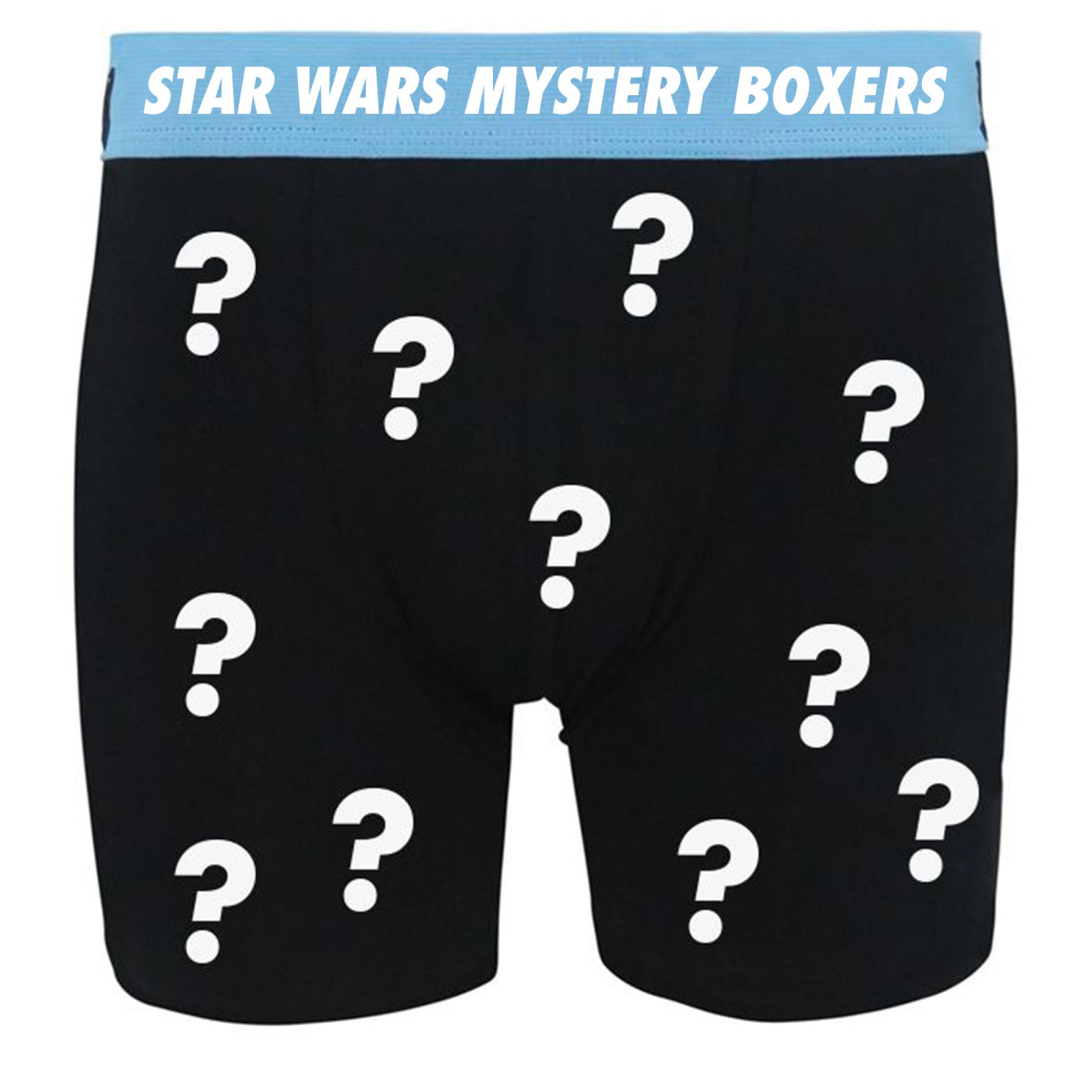 Star Wars Men's Mystery Boxer Briefs