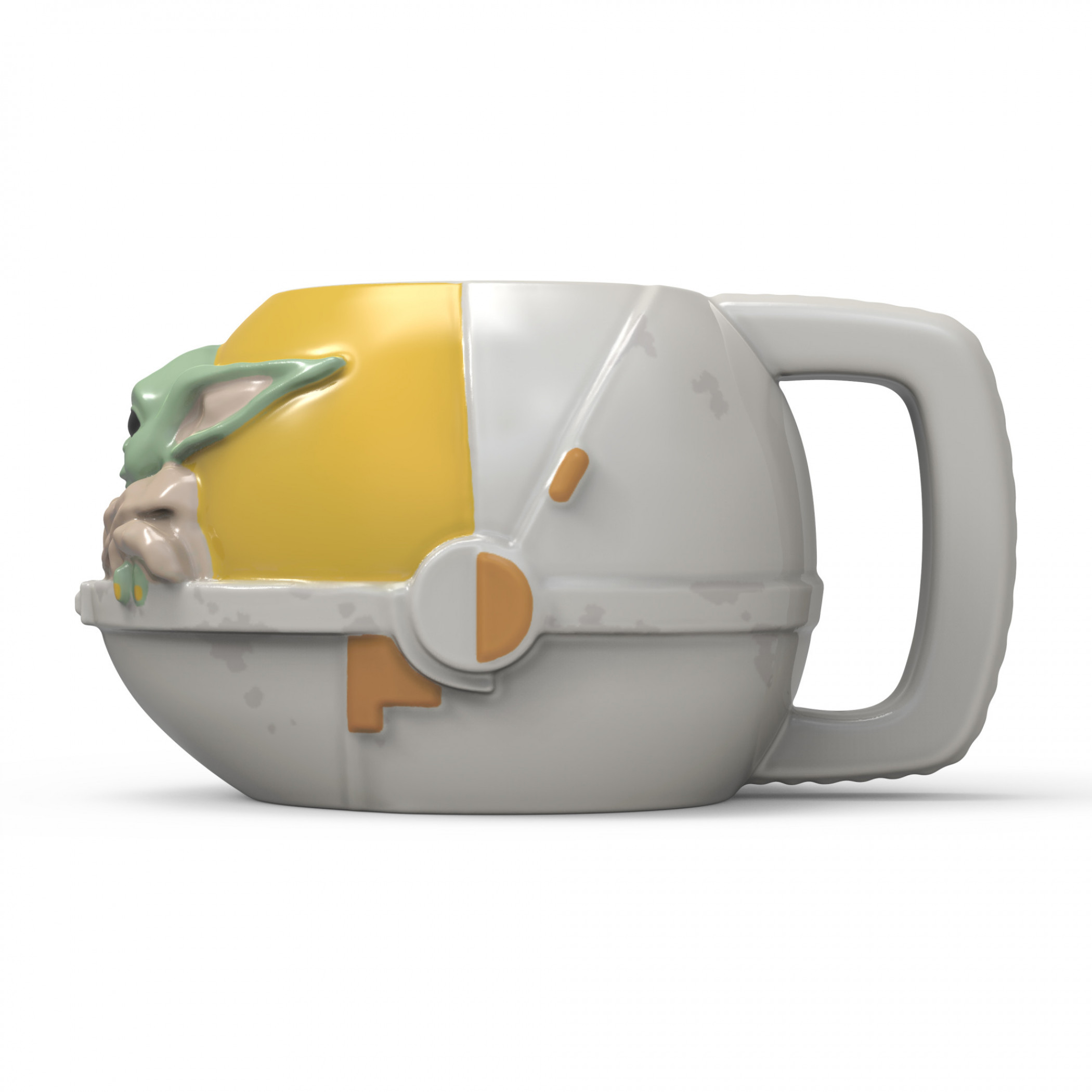 Star Wars The Mandalorian The Child Carrier Sculpted Mug