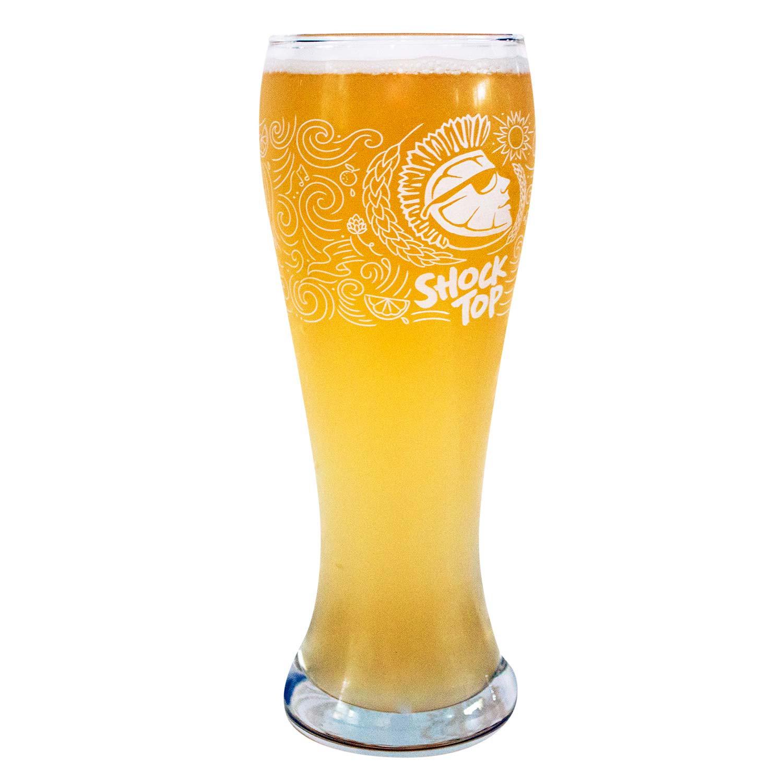 Shock Top Pilsner Pint Glass