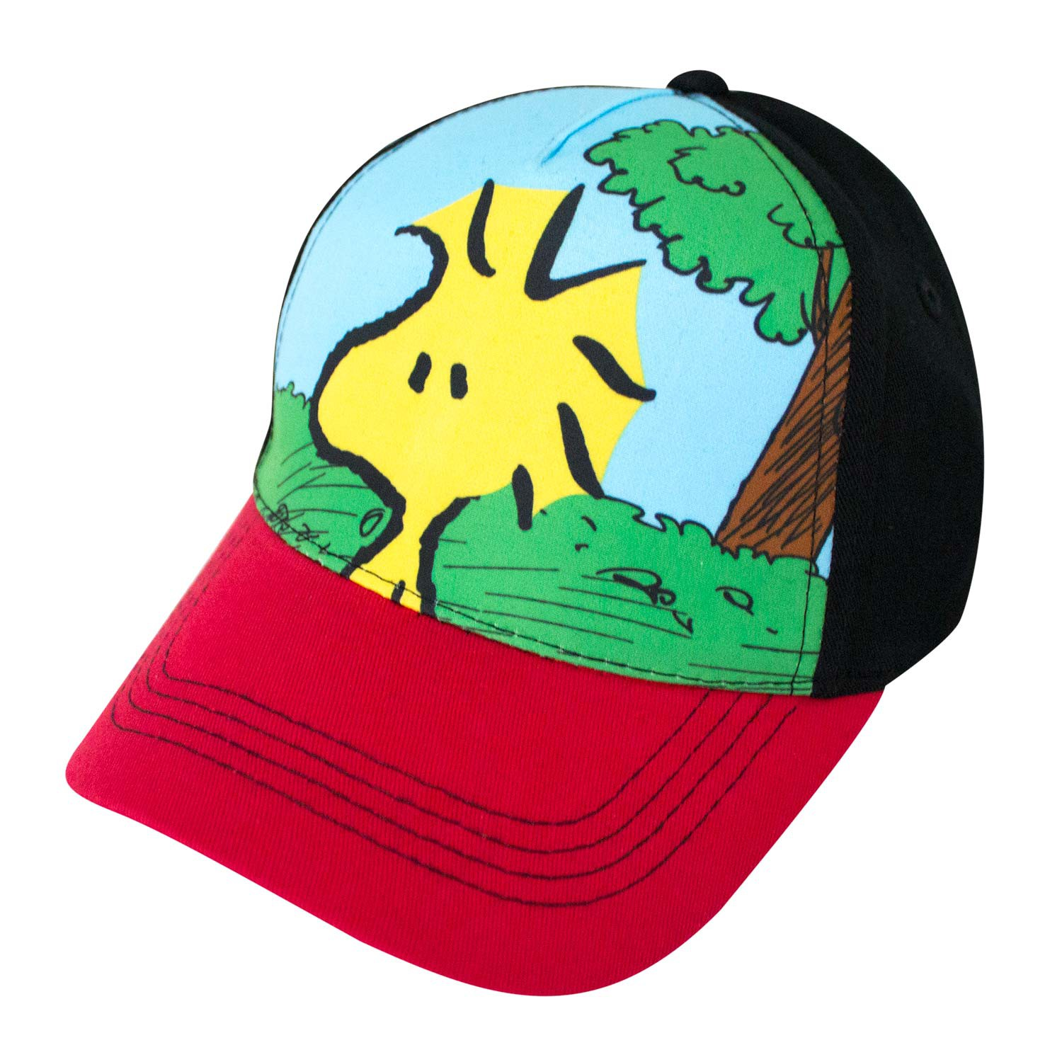 Snoopy Woodstock Full Color Youth Hat