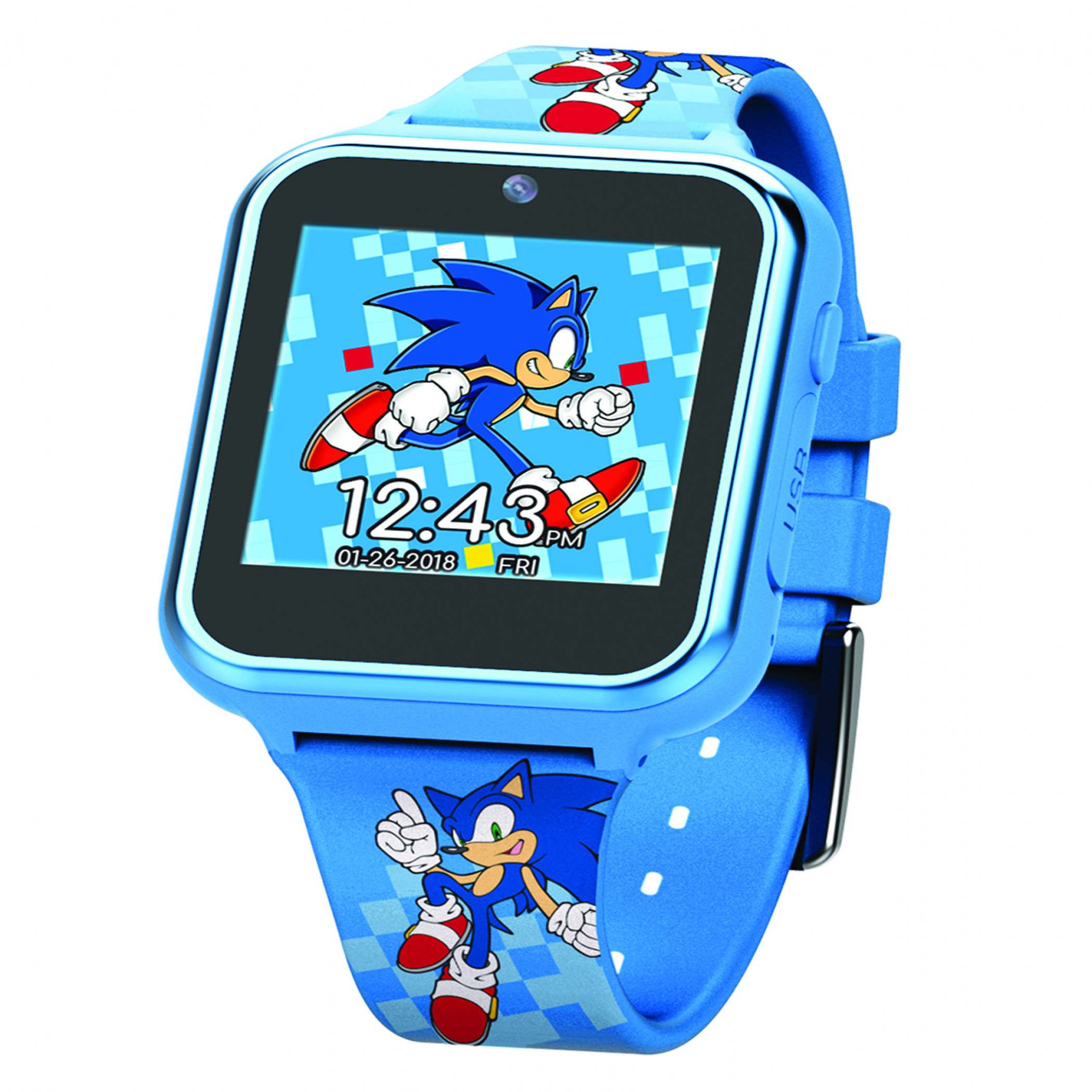 Accutime Sonic The Hedgehog Interactive Kids Watch
