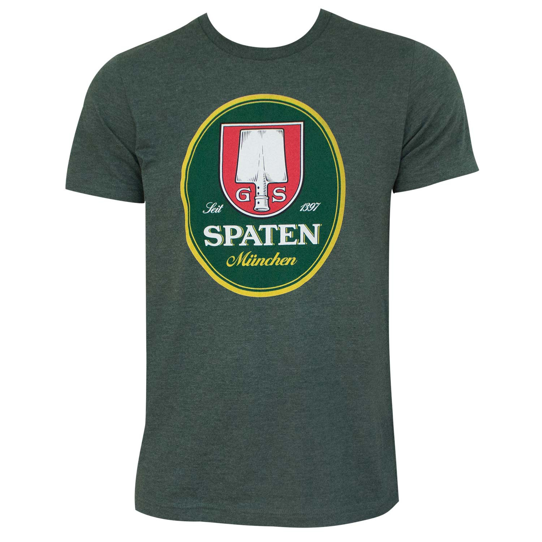 Spaten Logo Forest Green Tee Shirt