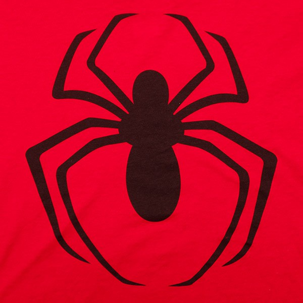Spider-Man Classic Logo Juniors TShirt - Red