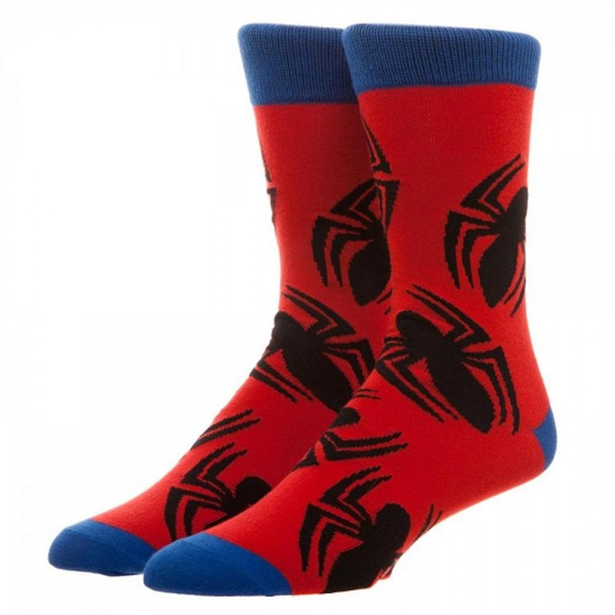 Spiderman Crew Socks