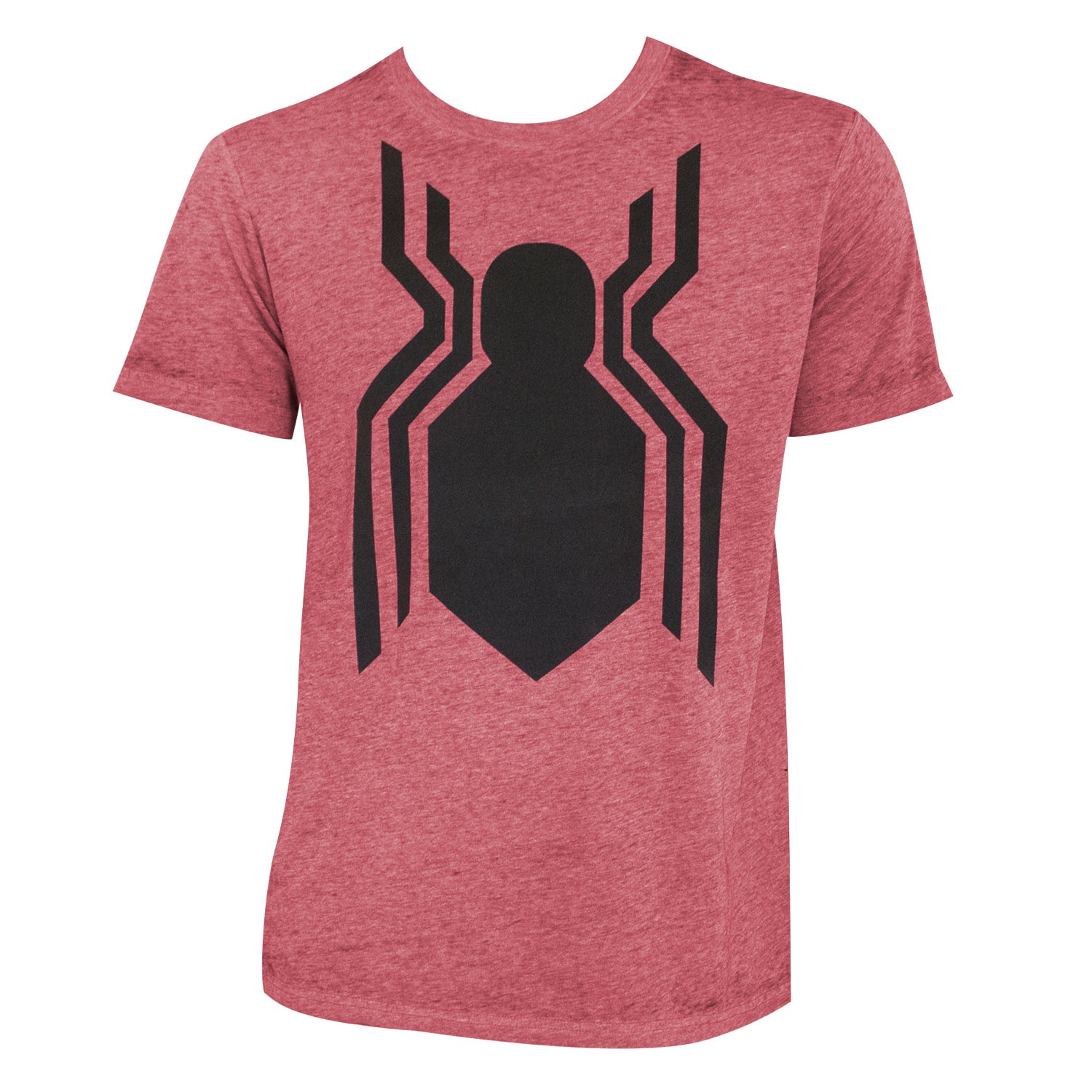 Spider-Man Men's Heather Red Homecoming T-Shirt