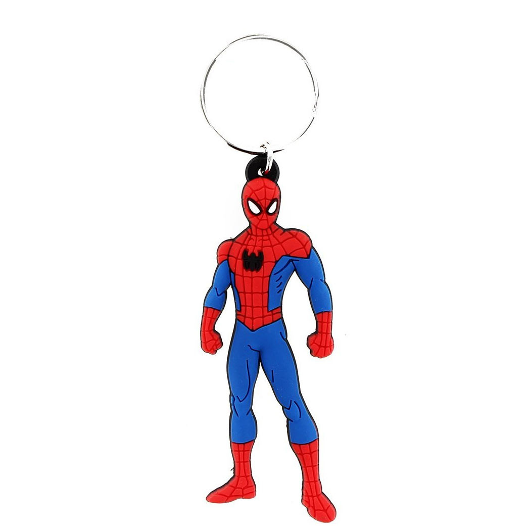 Spiderman Figurine Keychain