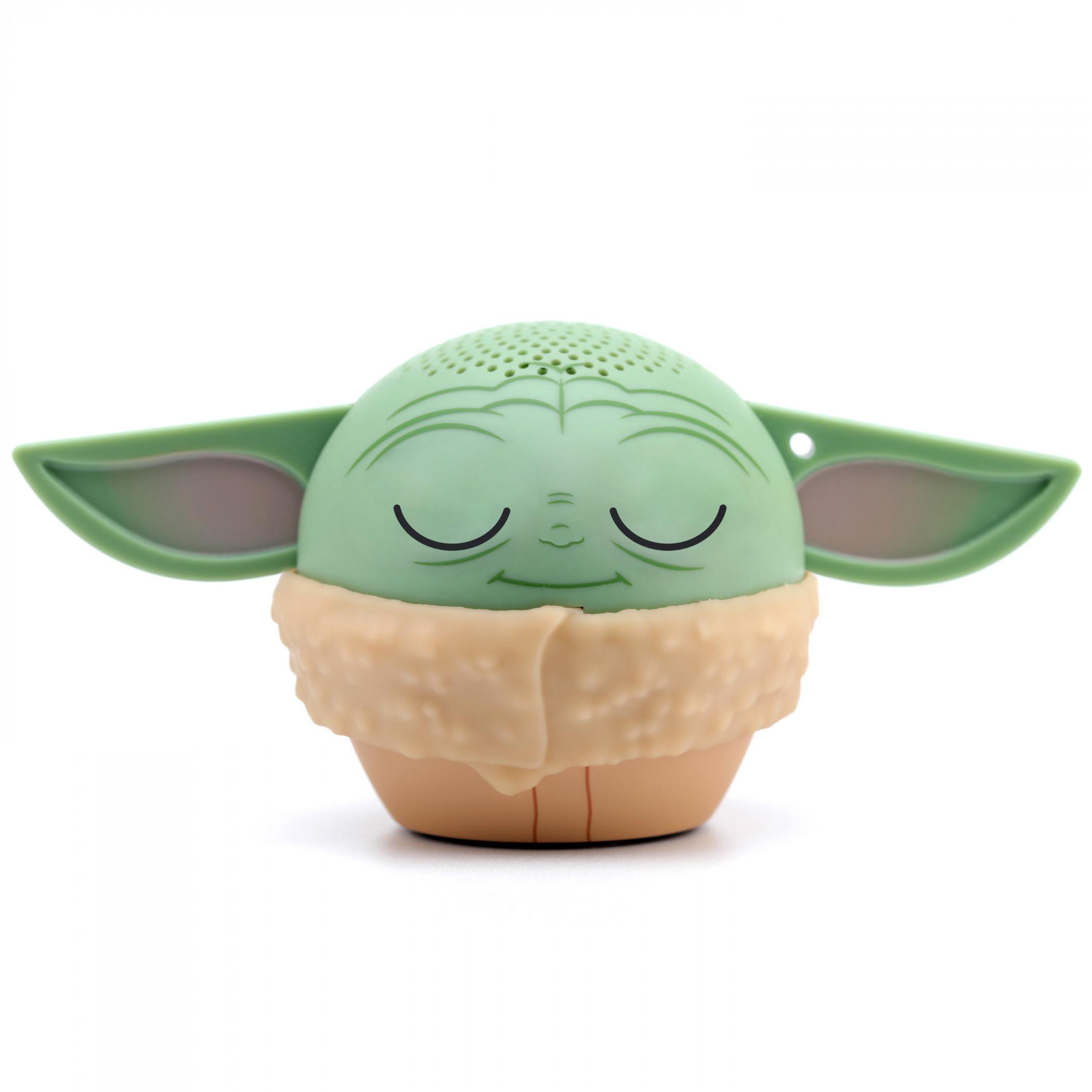 Star Wars The Child Grogu Eyes Shut Bitty Boomers Bluetooth Speaker