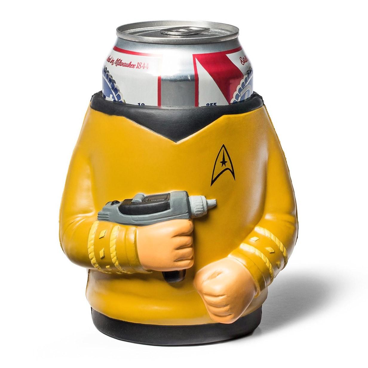 Star Trek Foam Kirk Can Cooler