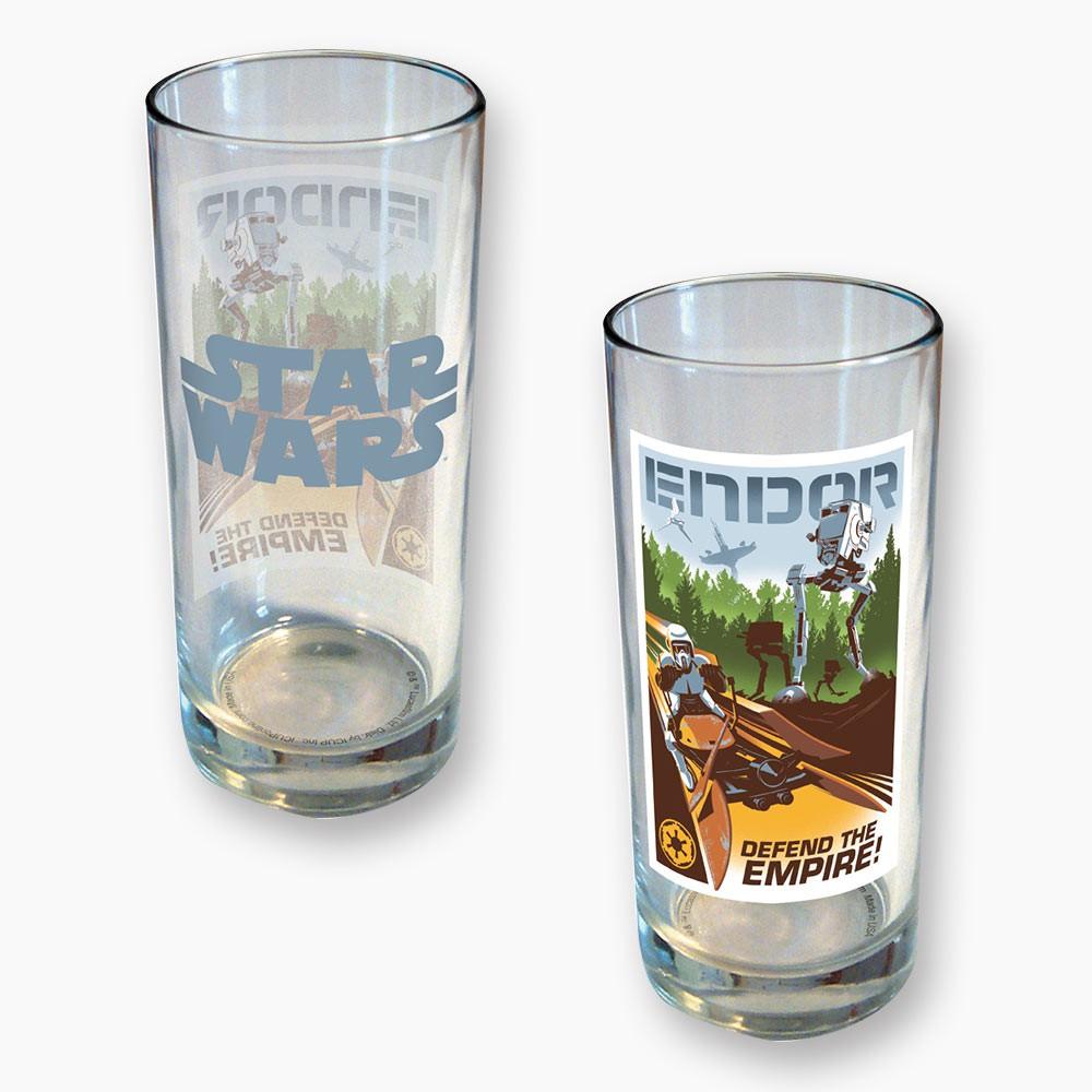 Star Wars Endor 15 Ounce Glass