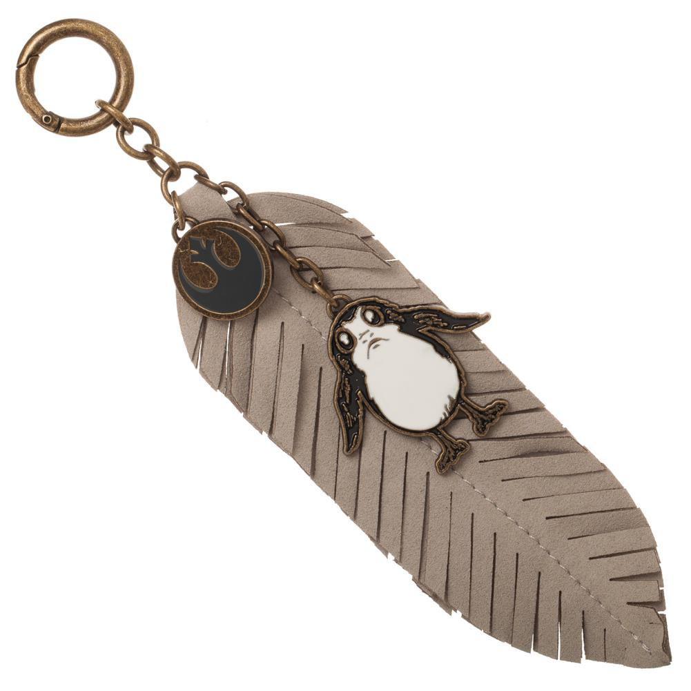Star Wars Episode 8 Porg Feather Keychain