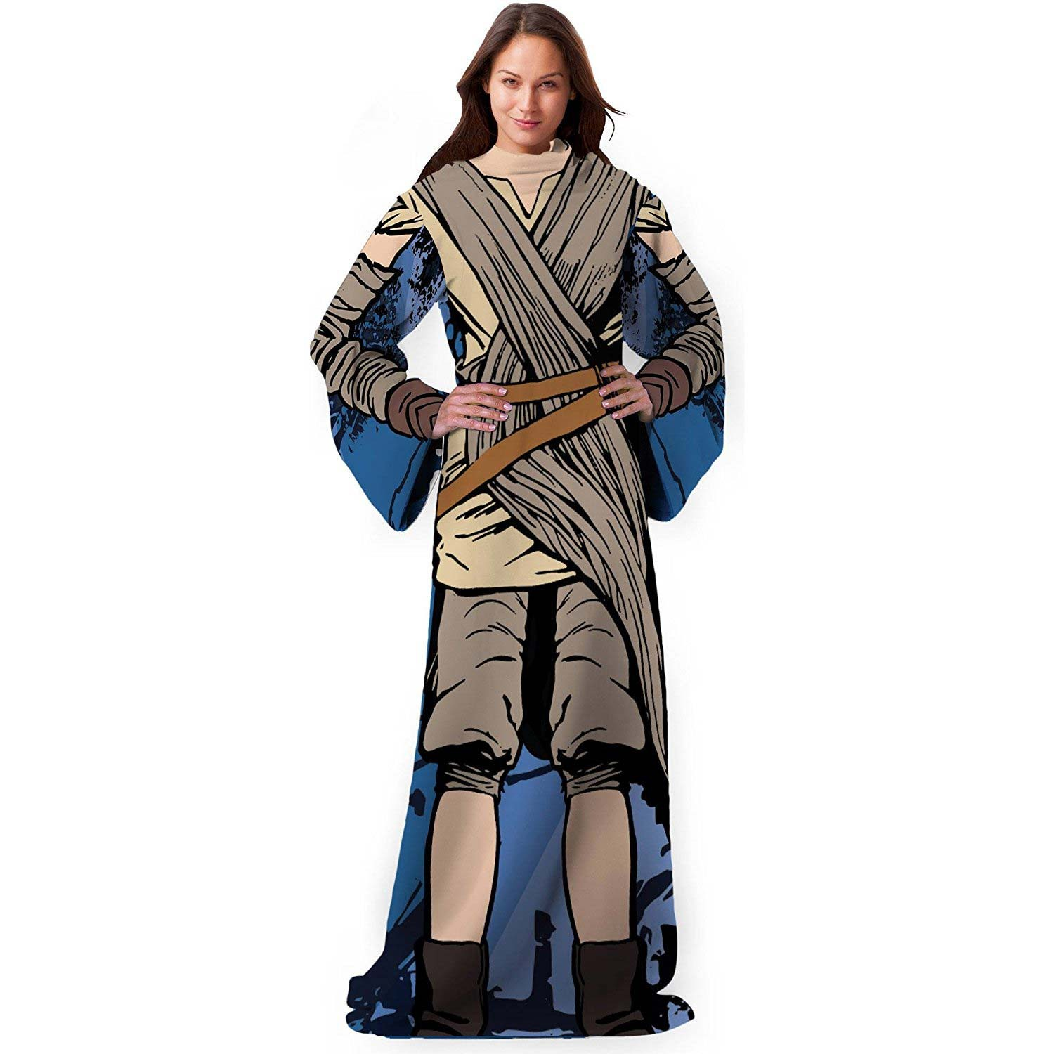 Star Wars Jakku Rey Adult Snuggie