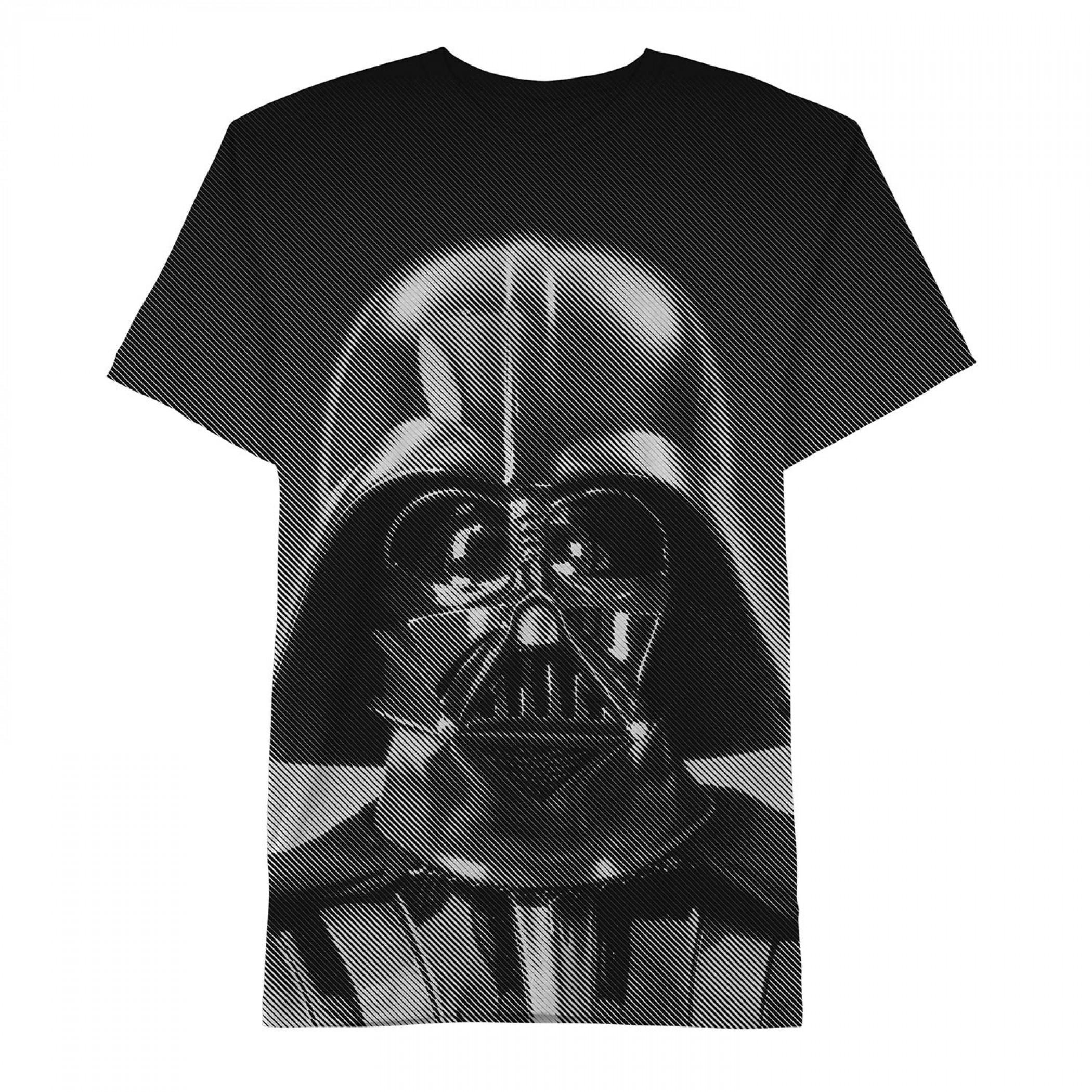 Star Wars Darth Vader Graphic Tee Shirt