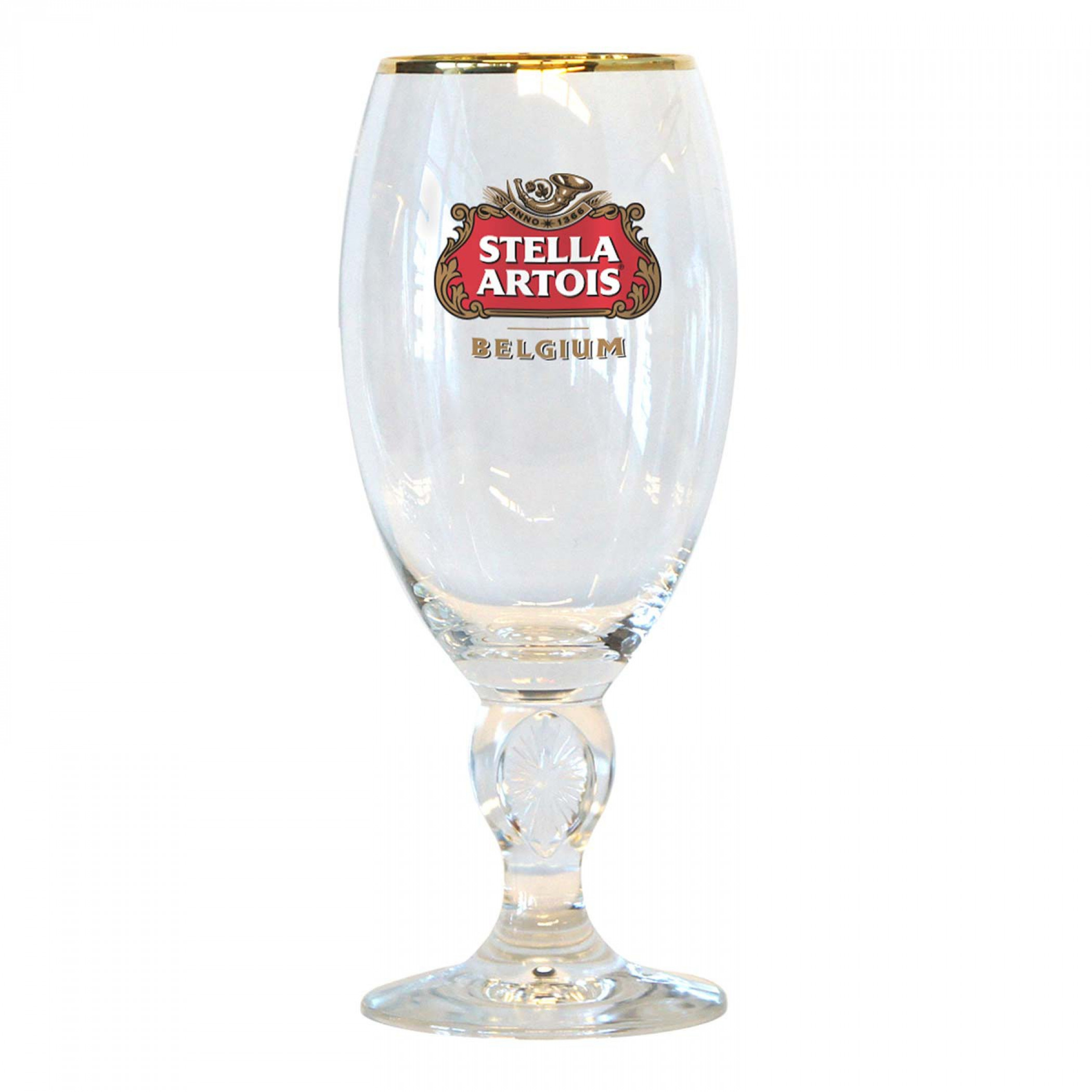 Stella Artois Gold Rimmed 50cl Chalice Glass
