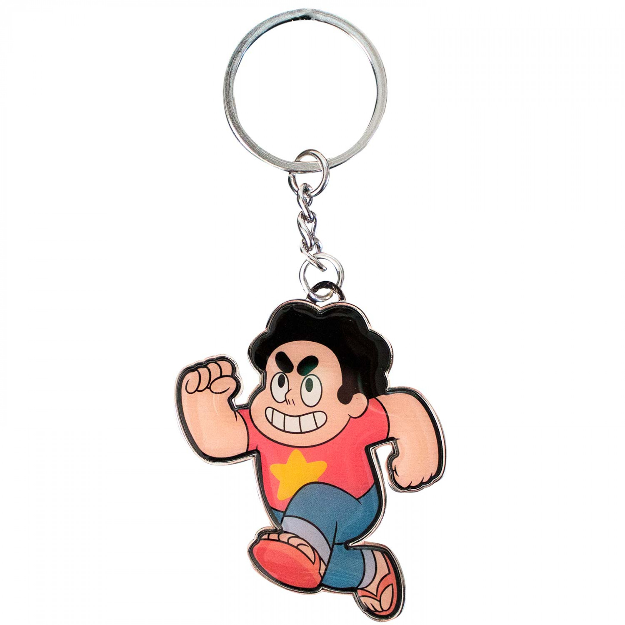 Steven Universe Running Keychain