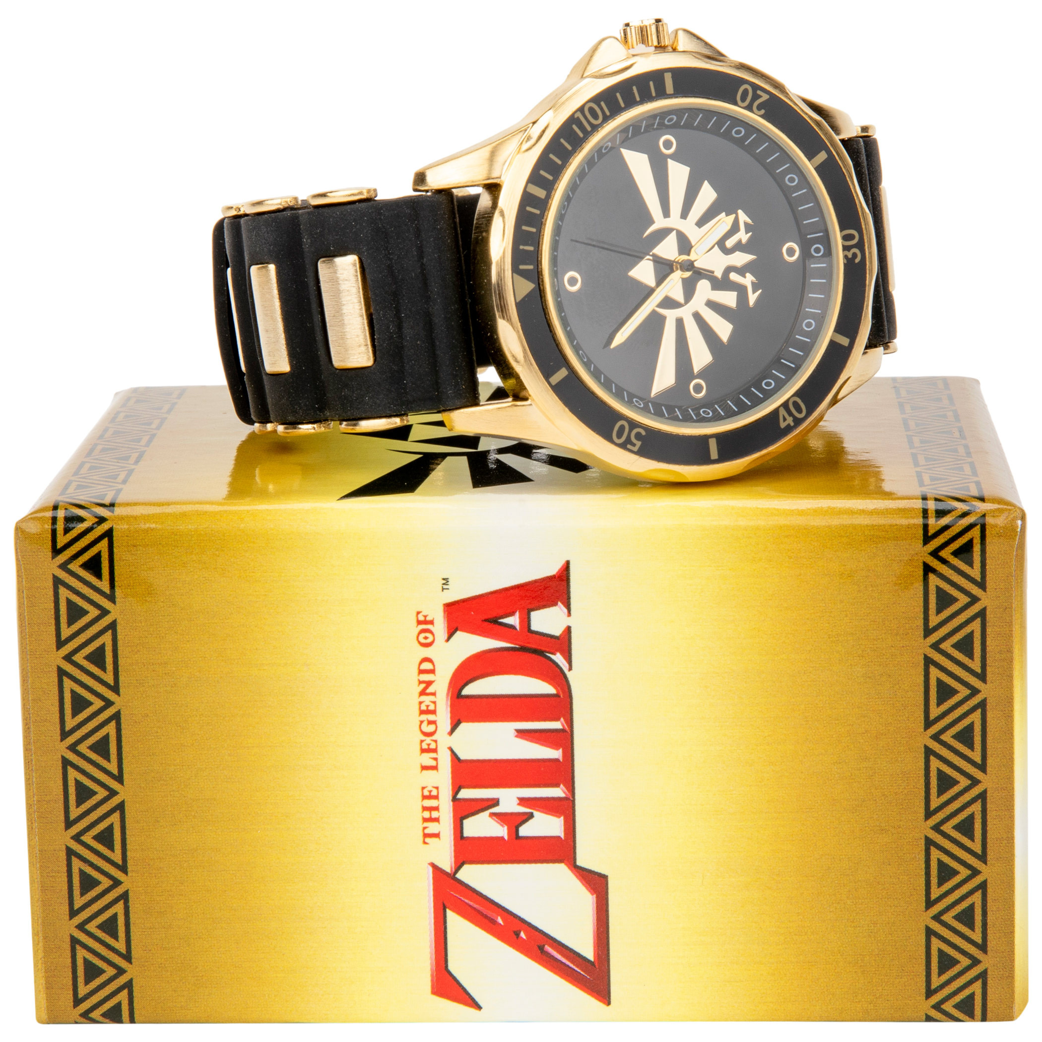 Zelda Triforce Watch with Rubber Band