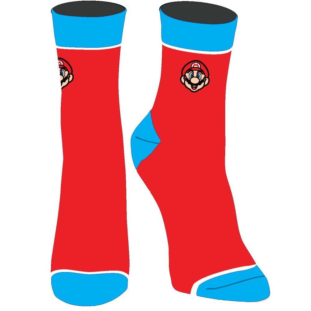 Super Mario Embroidered Juniors Socks