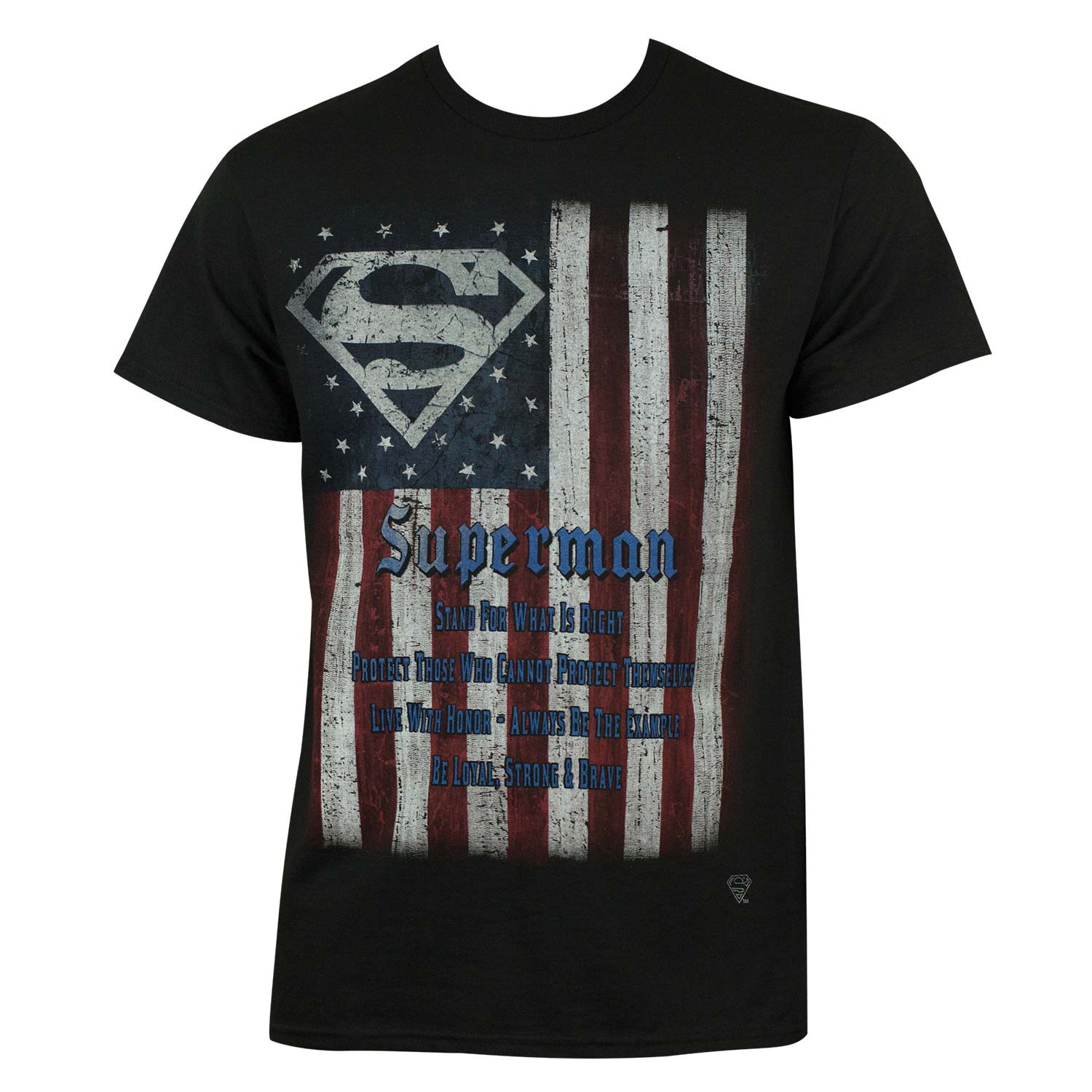 Superman Flag Tee Shirt