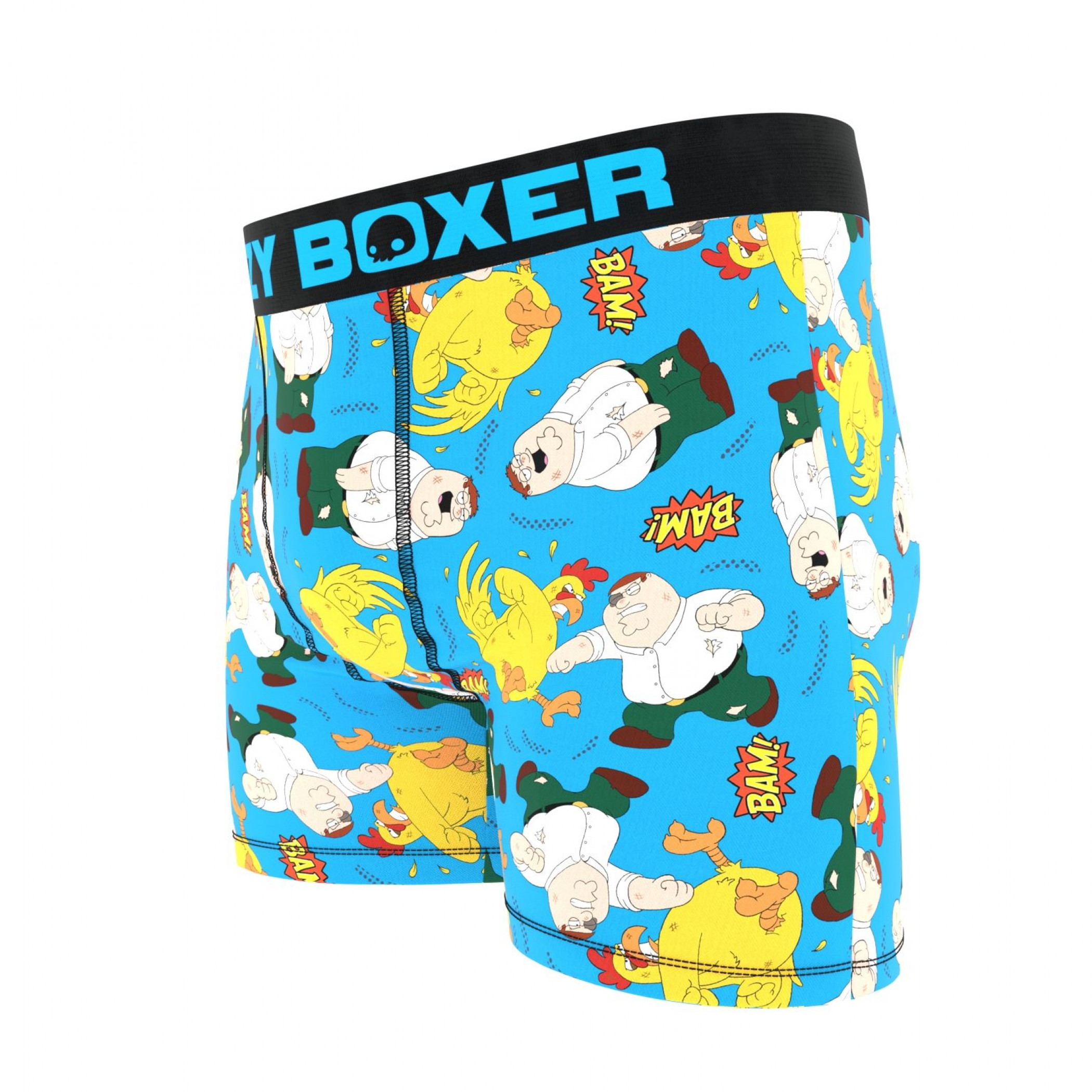 Family Guy Peter vs The Chicken Boxer Briefs