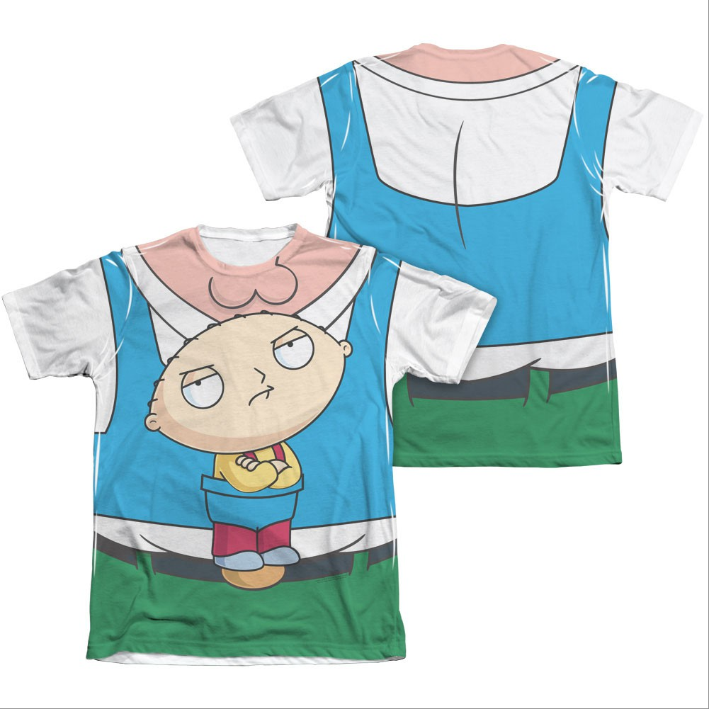 Family Guy Peter Stewie Carrier Costume Sublimation T-Shirt