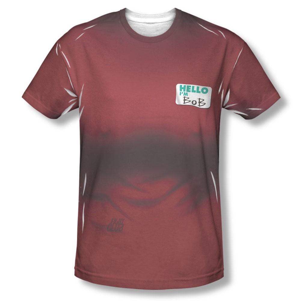 Fight Club Bob Costume Sublimation T-Shirt