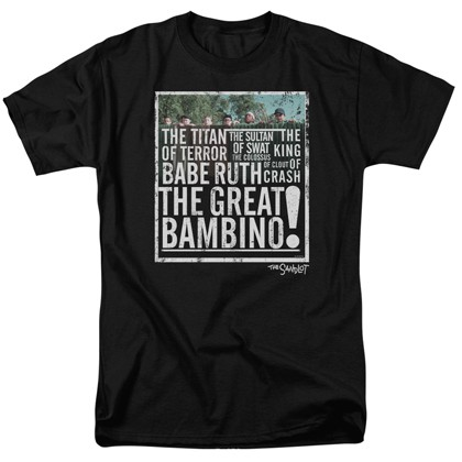 The Sandlot Great Bambino Tshirt