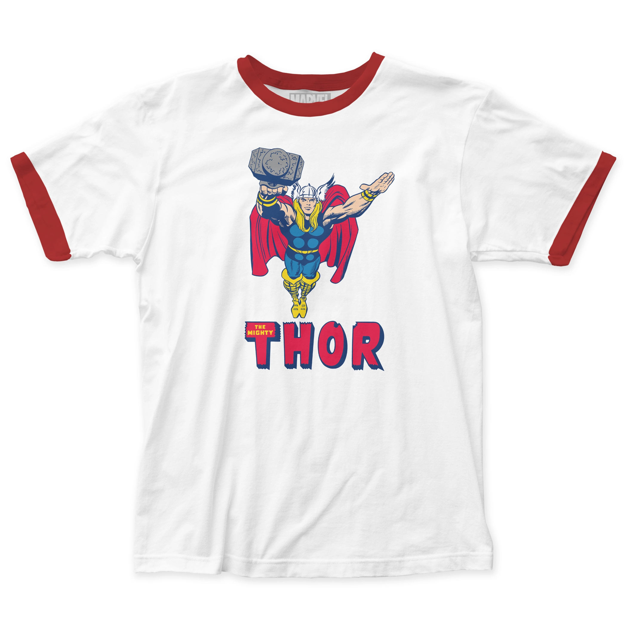The Mighty Thor Retro Ringer T-Shirt