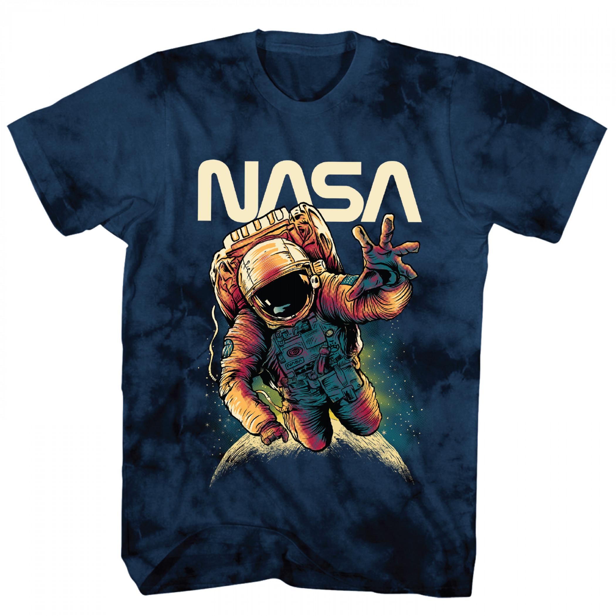 NASA Astronaut Tie Dye T-Shirt