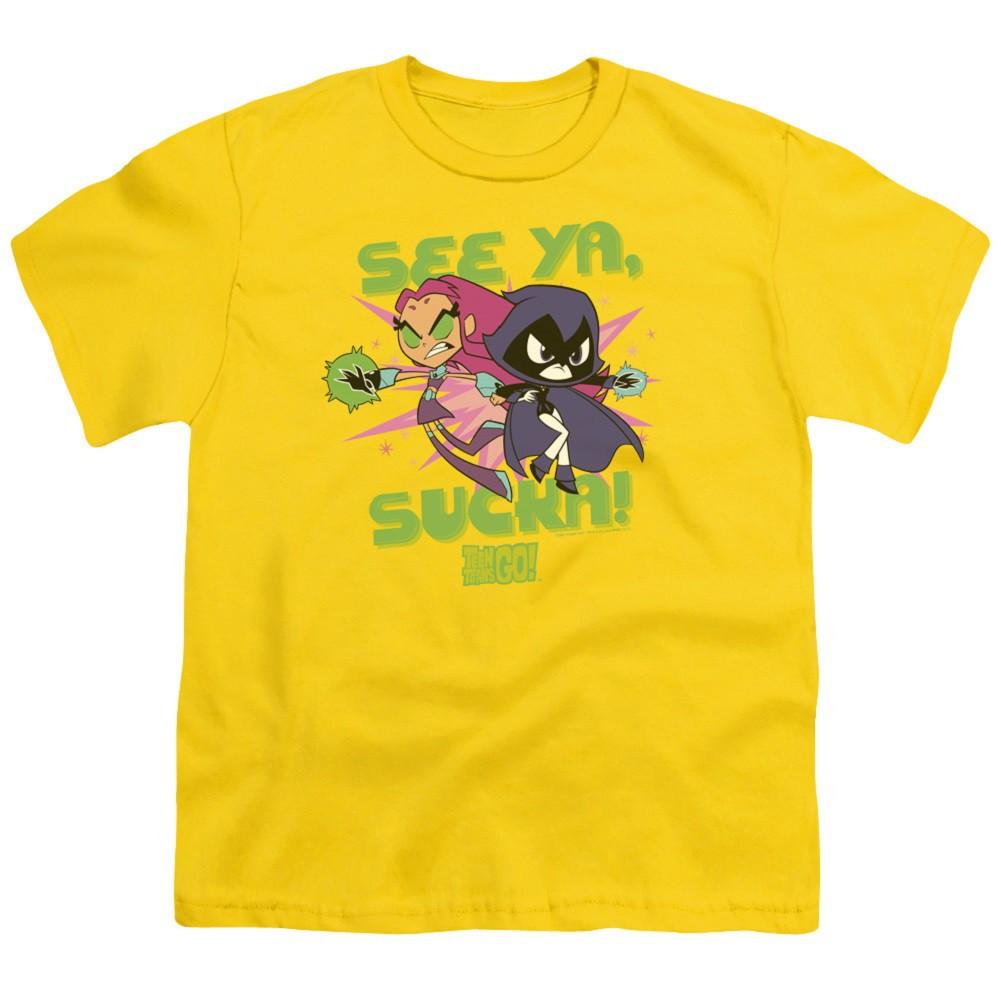 Teen Titans Go! Sucka Youth Tshirt