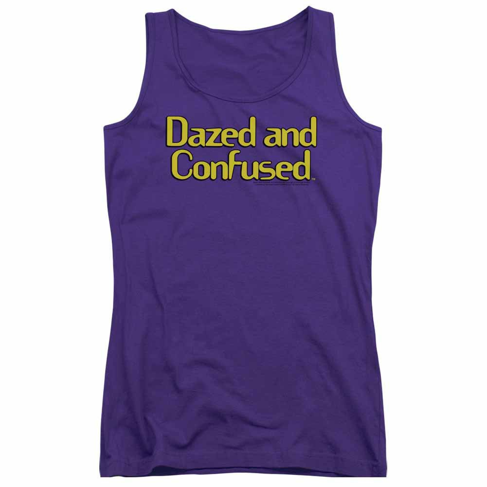 Dazed And Confused Dazed Logo Purple Juniors Tank Top
