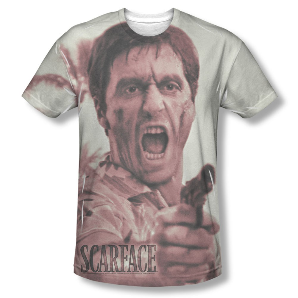 Scarface War Cry Sublimation T-Shirt