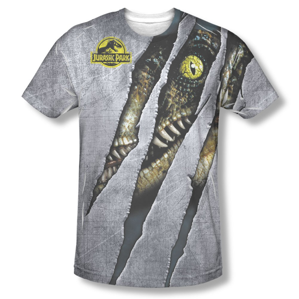 Jurassic Park Live Raptor Sublimation T-Shirt